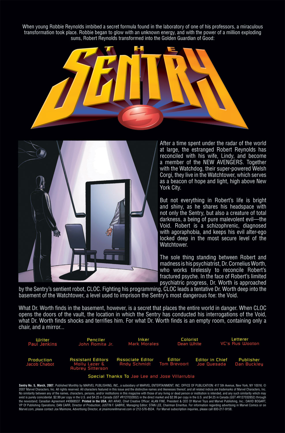 Read online Sentry (2006) comic -  Issue #5 - 2
