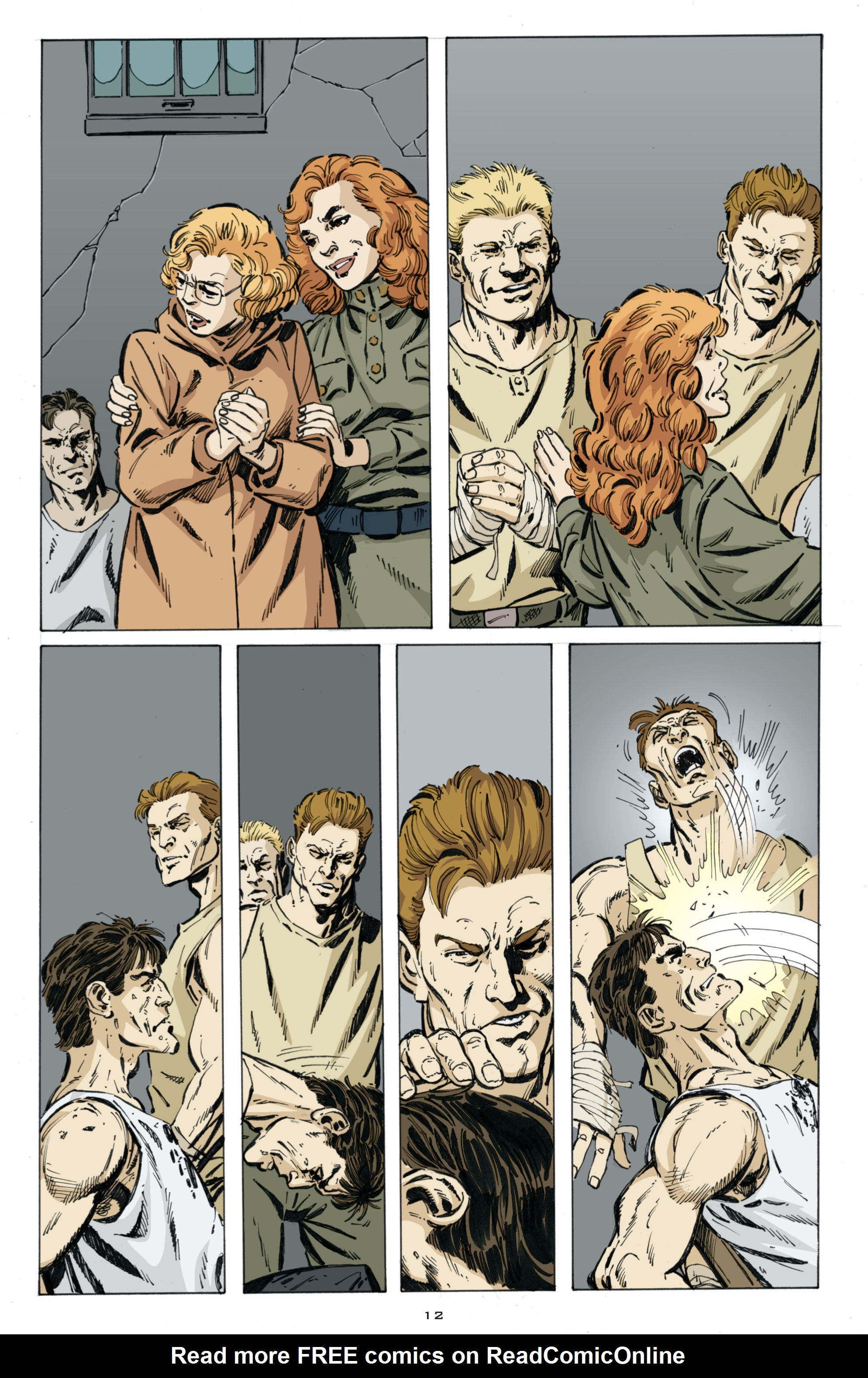 Read online Cold War comic -  Issue # TPB - 96