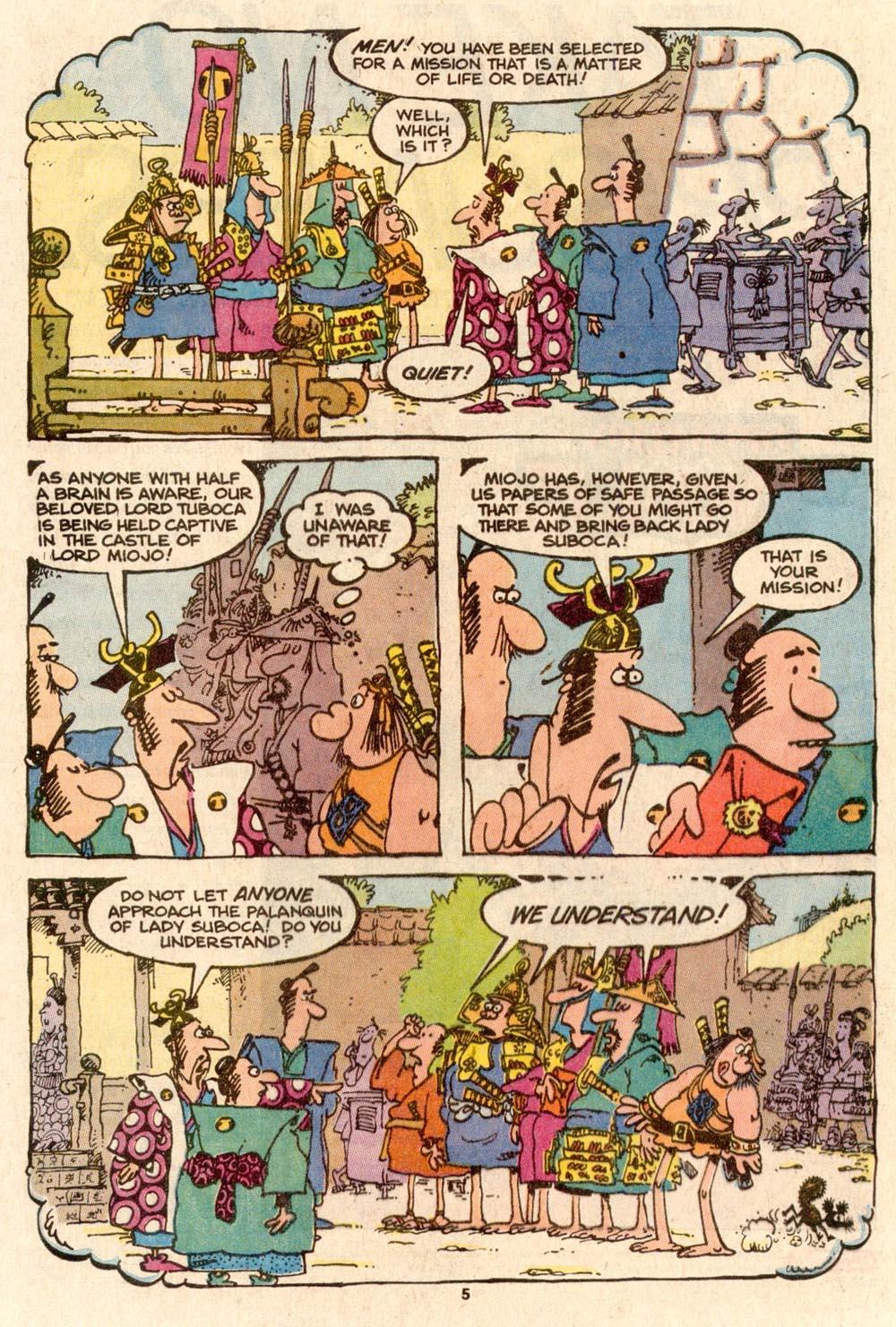 Read online Sergio Aragonés Groo the Wanderer comic -  Issue #56 - 4