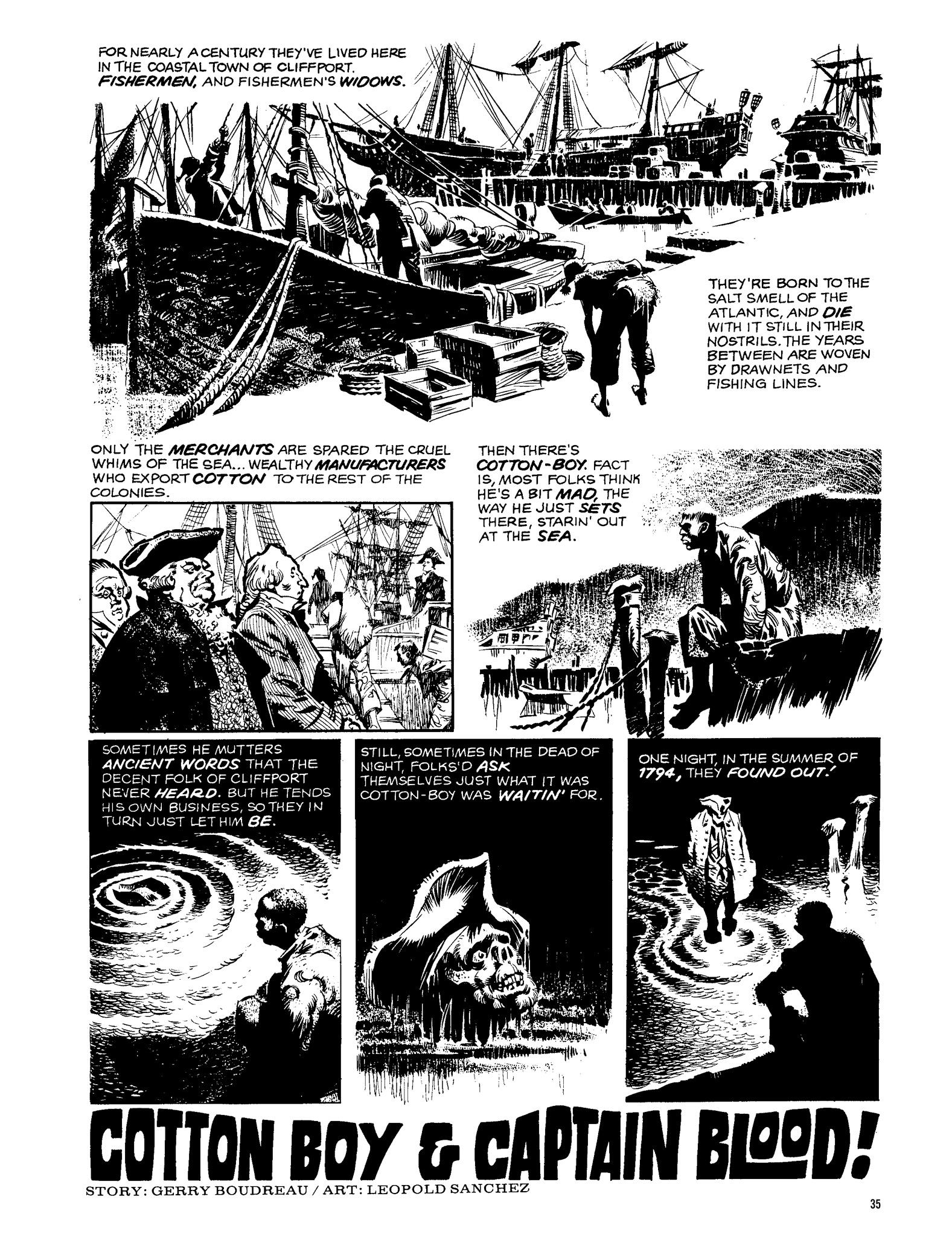 Read online Eerie Archives comic -  Issue # TPB 13 - 36