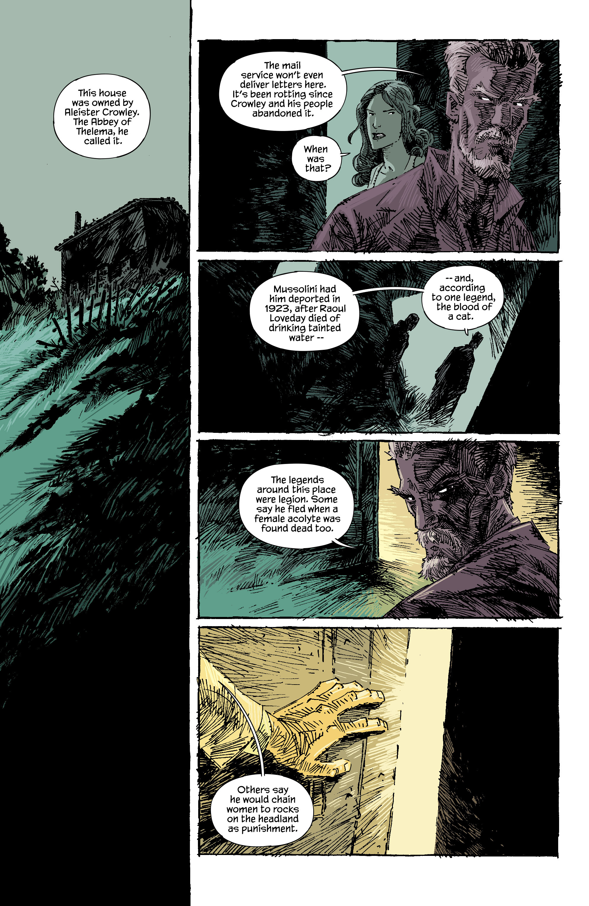 Read online Trees comic -  Issue #5 - 9
