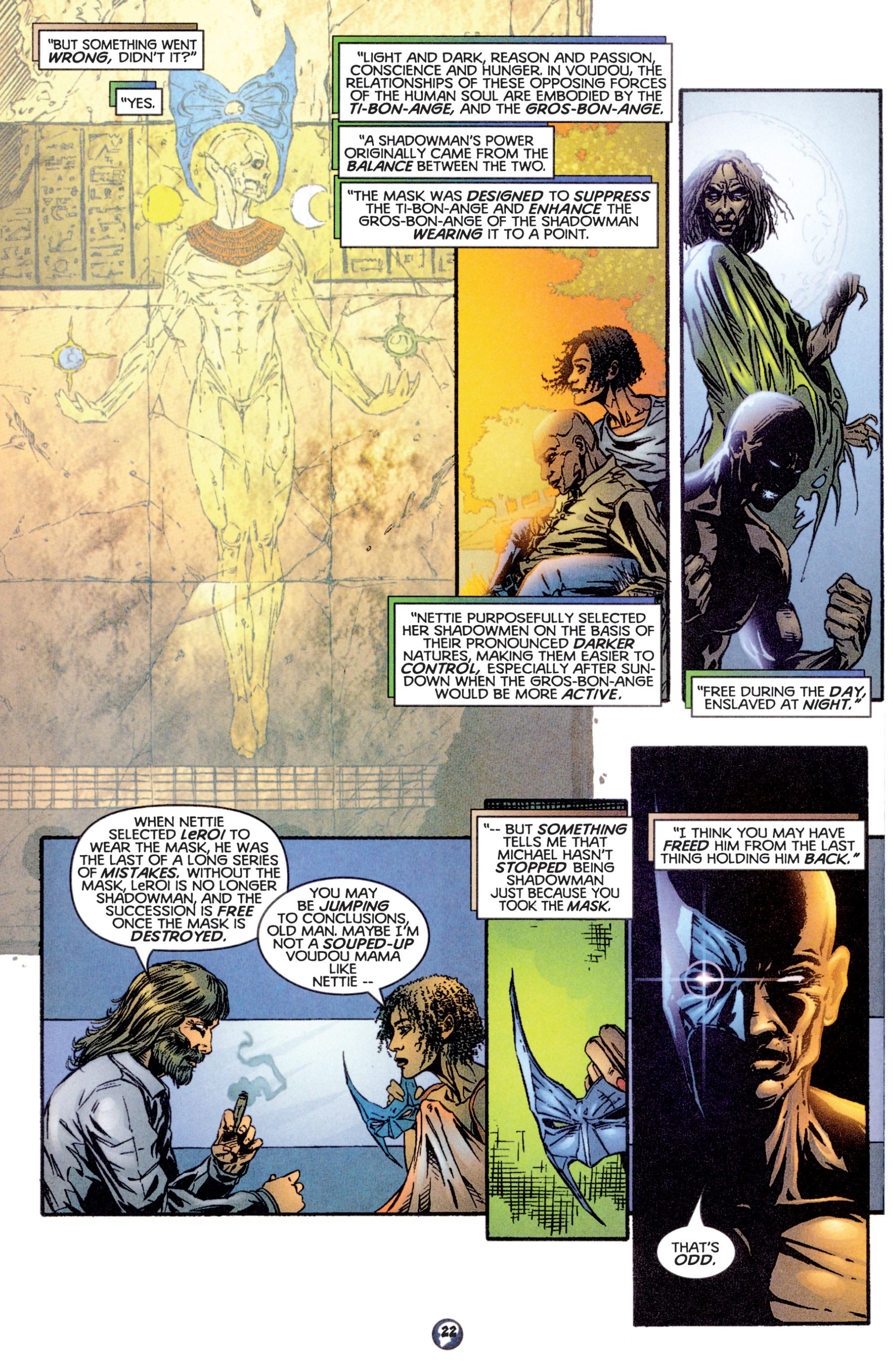 Read online Shadowman (1997) comic -  Issue #16 - 18