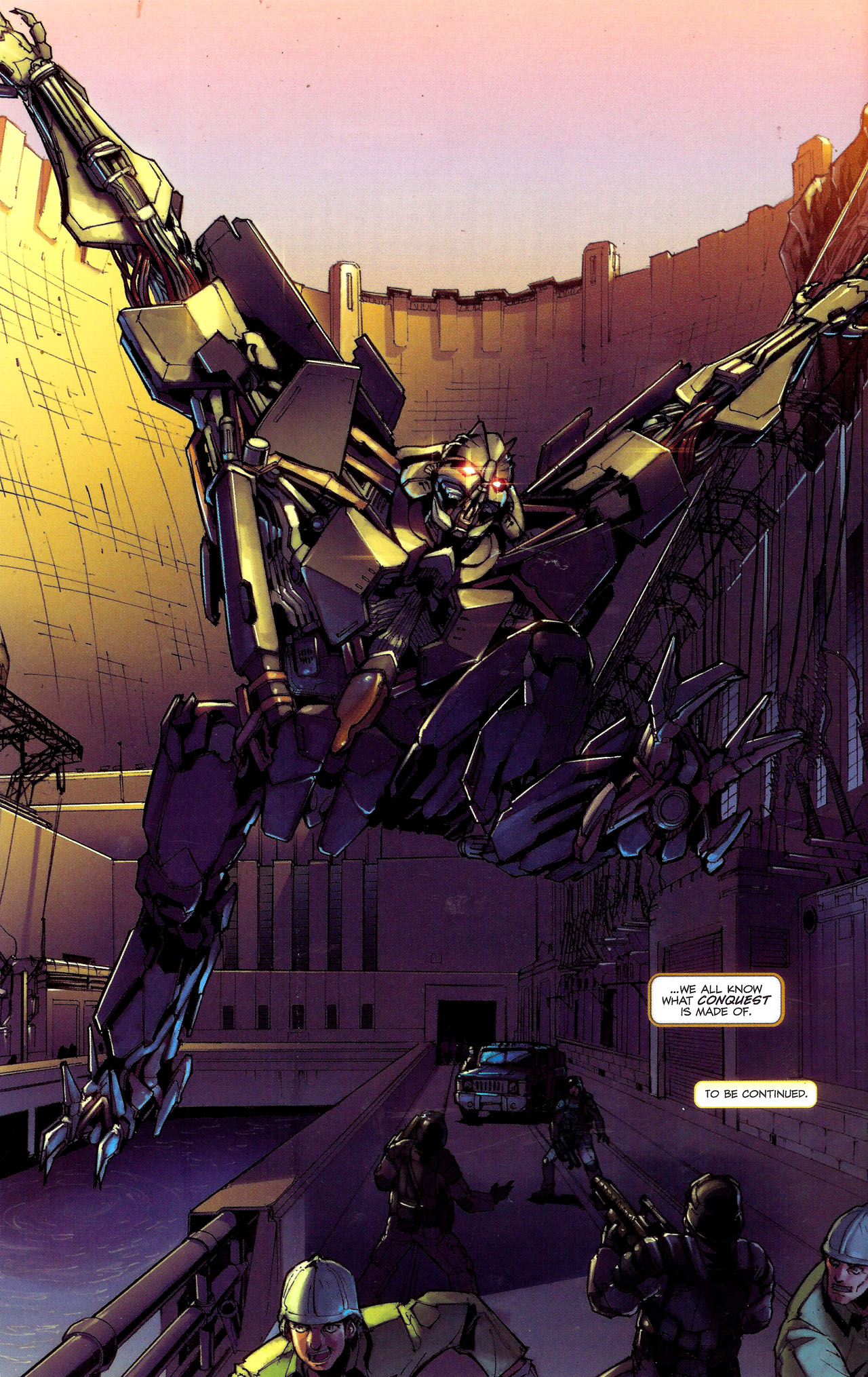 Read online Transformers: The Reign of Starscream comic -  Issue #1 - 25