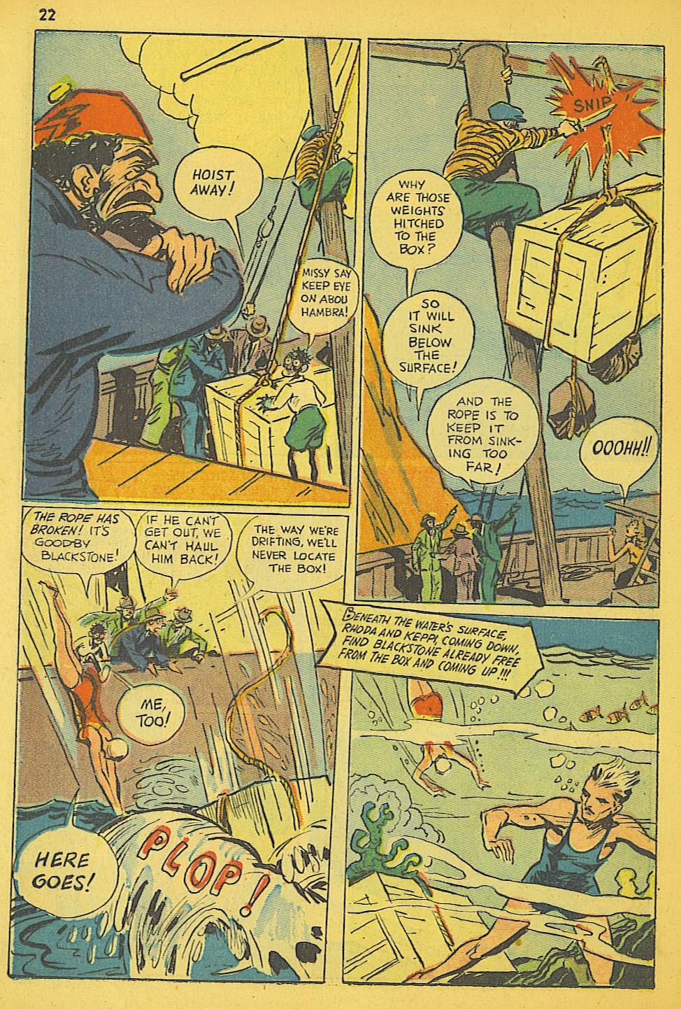 Read online Super-Magician Comics comic -  Issue #19 - 22
