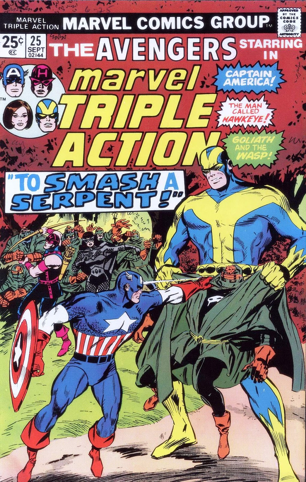 Marvel Triple Action (1972) issue 25 - Page 1