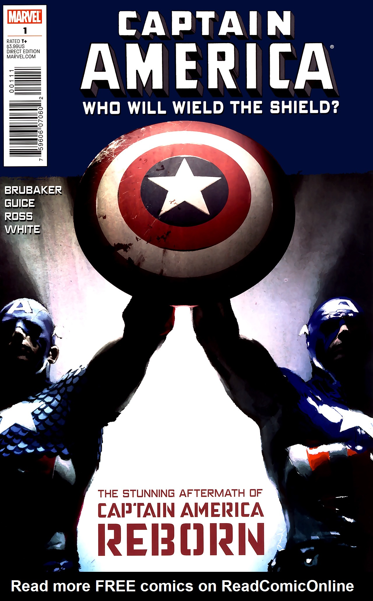 Captain America Reborn: Who Will Wield the Shield? Full Page 1