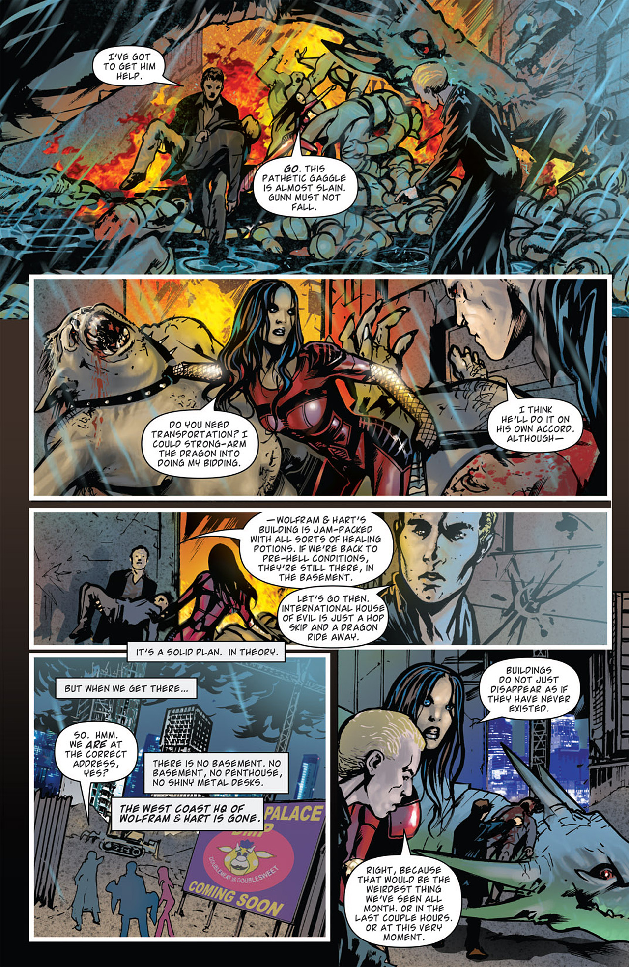 Read online Angel: After The Fall comic -  Issue #16 - 21