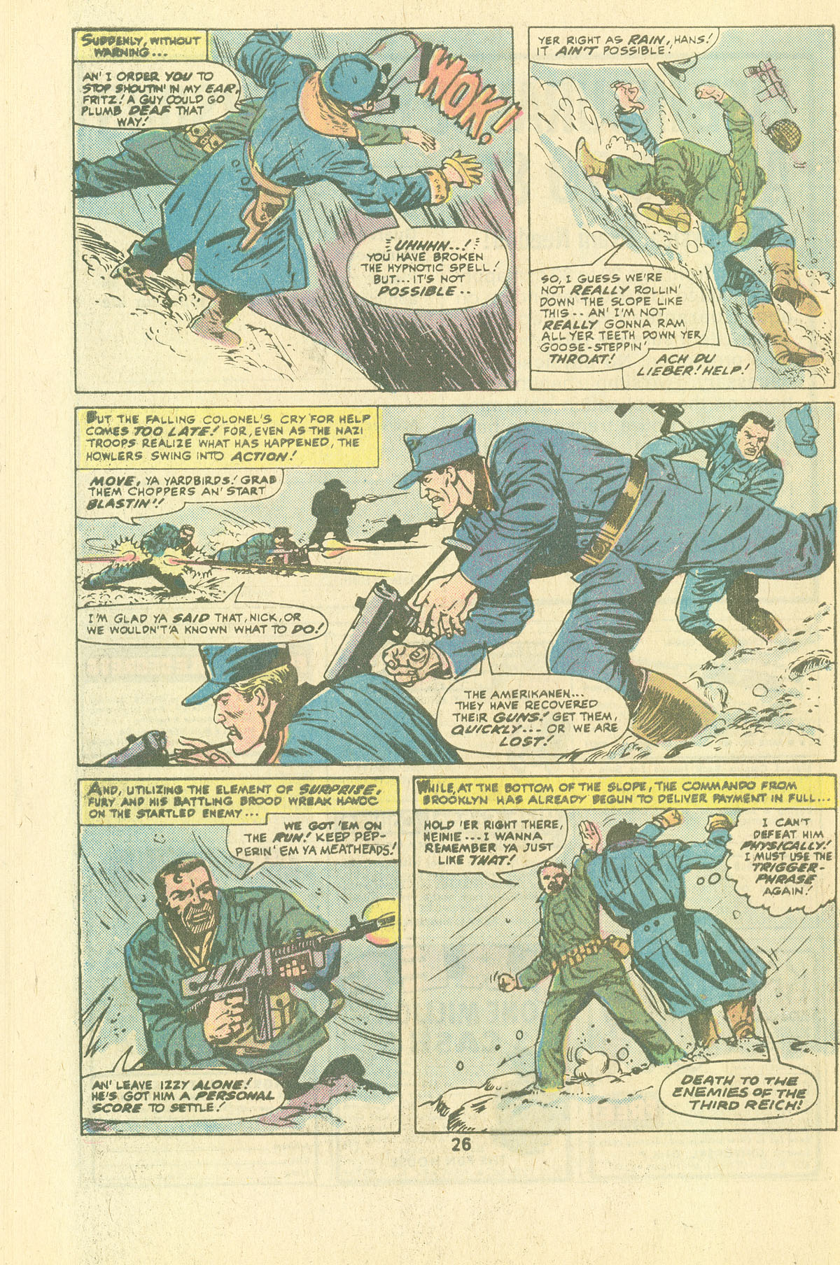 Read online Sgt. Fury comic -  Issue #134 - 28