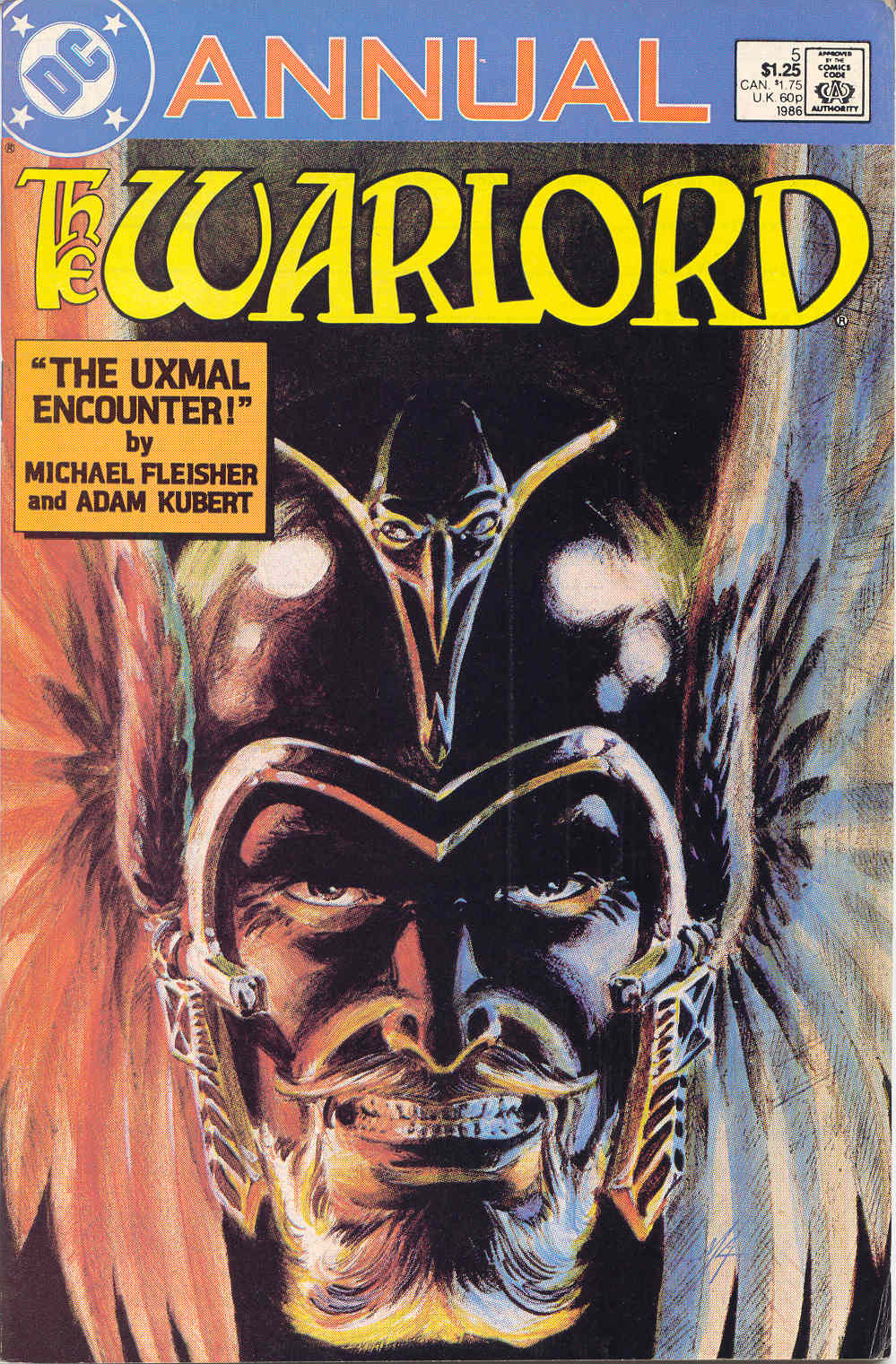 Warlord (1976) _Annual_5 Page 1