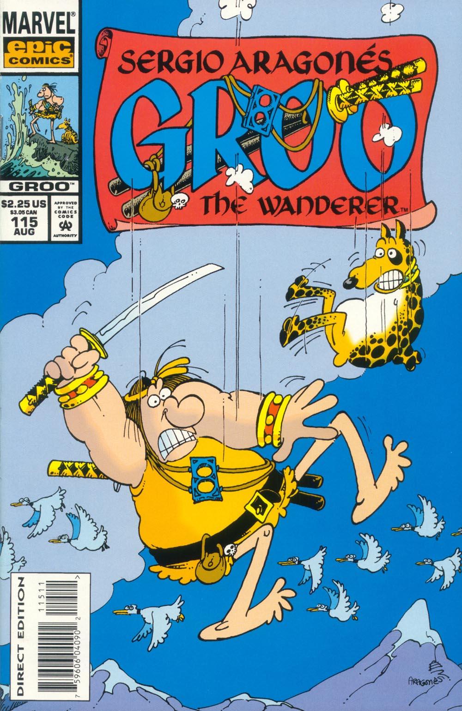 Read online Sergio Aragonés Groo the Wanderer comic -  Issue #115 - 1