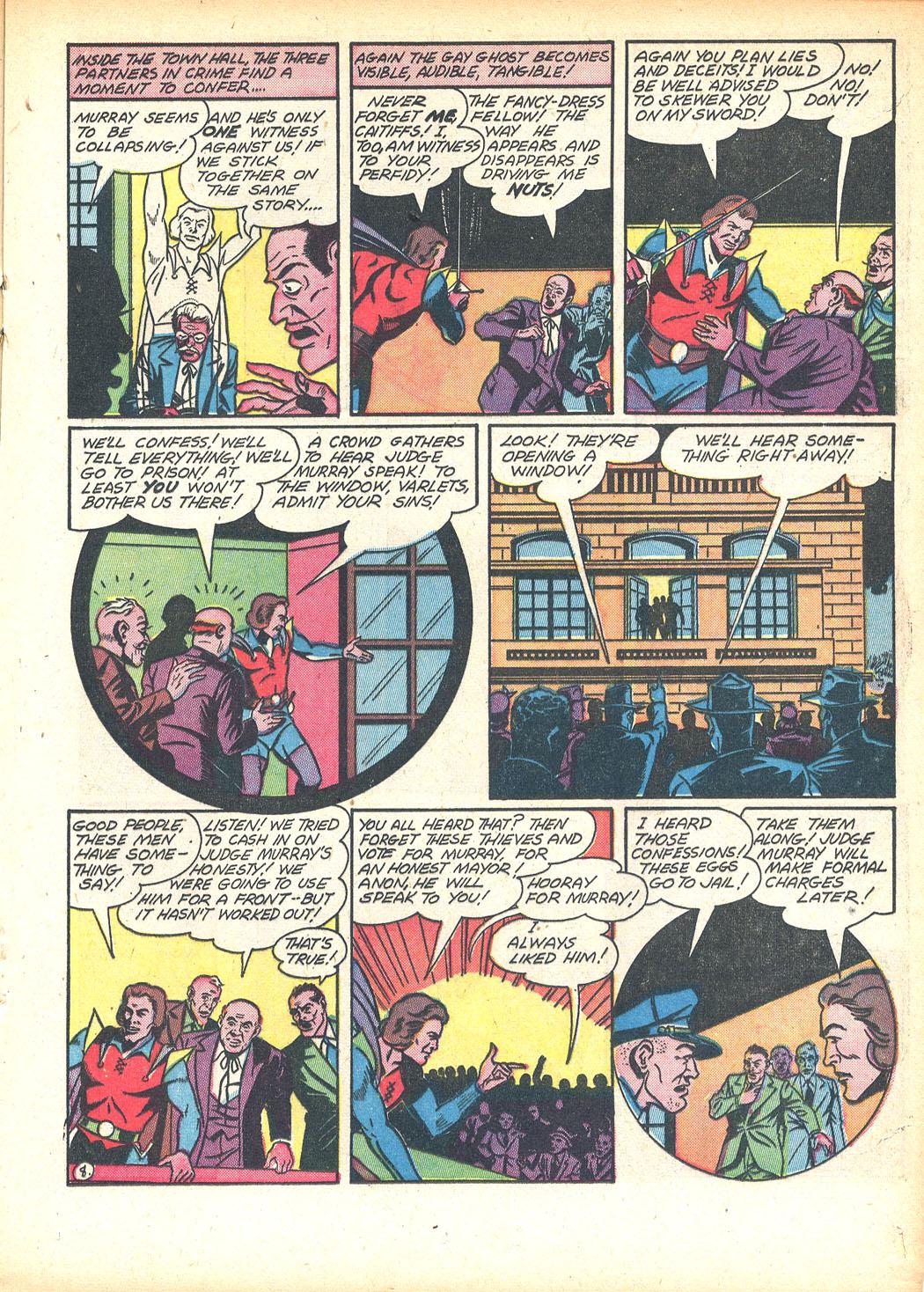 Read online Sensation (Mystery) Comics comic -  Issue #13 - 33