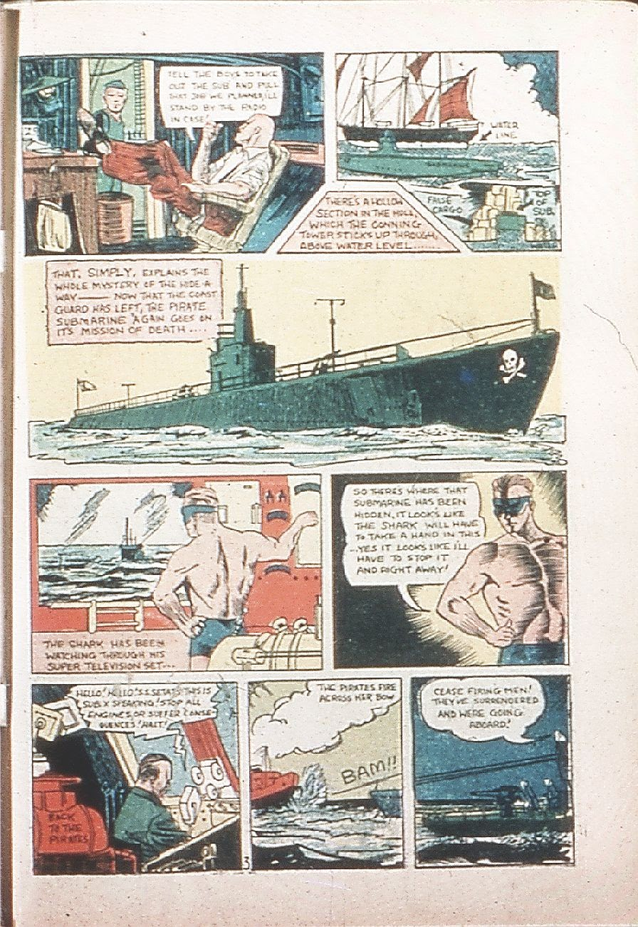 Read online Amazing Man Comics comic -  Issue #9 - 62