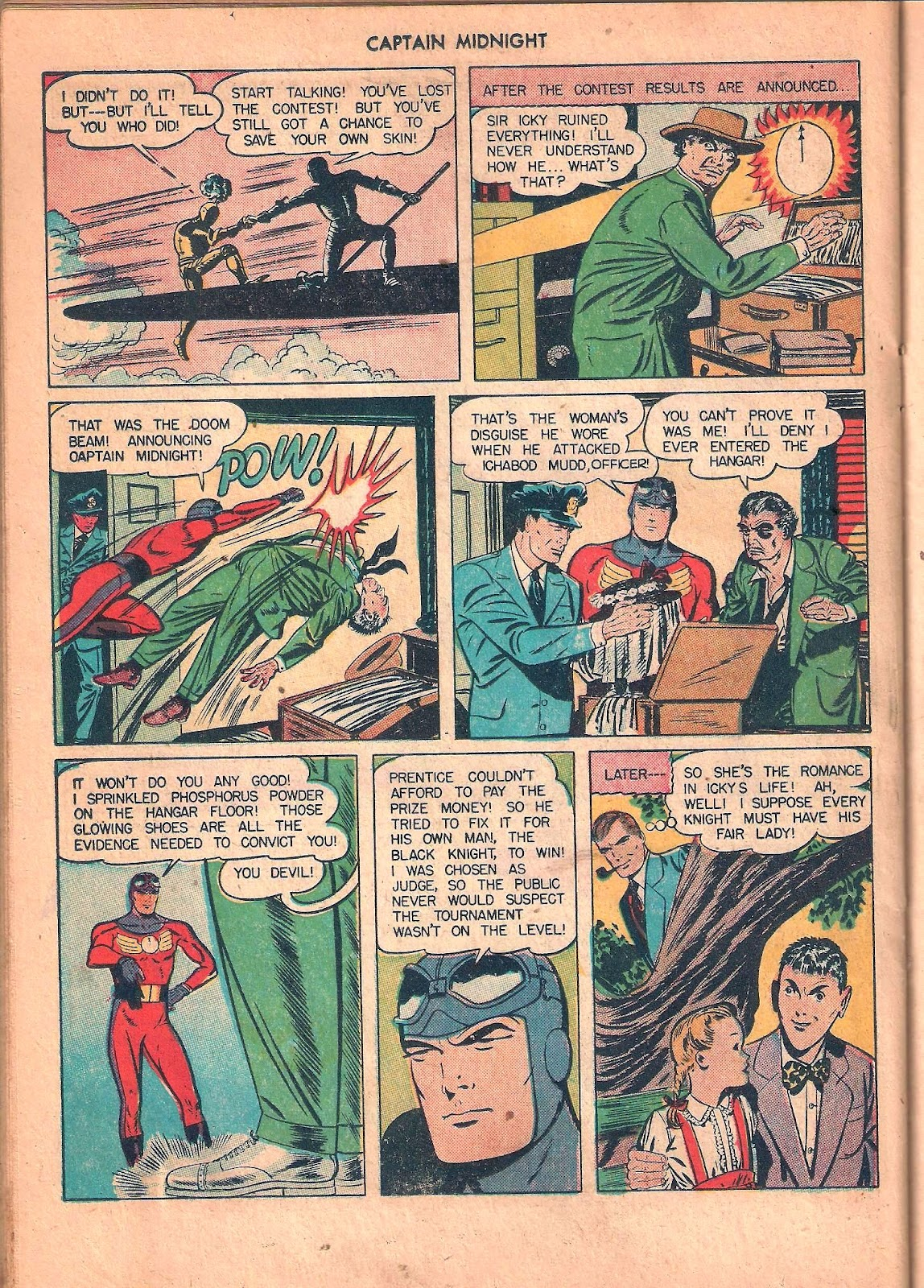 Captain Midnight (1942) issue 53 - Page 30