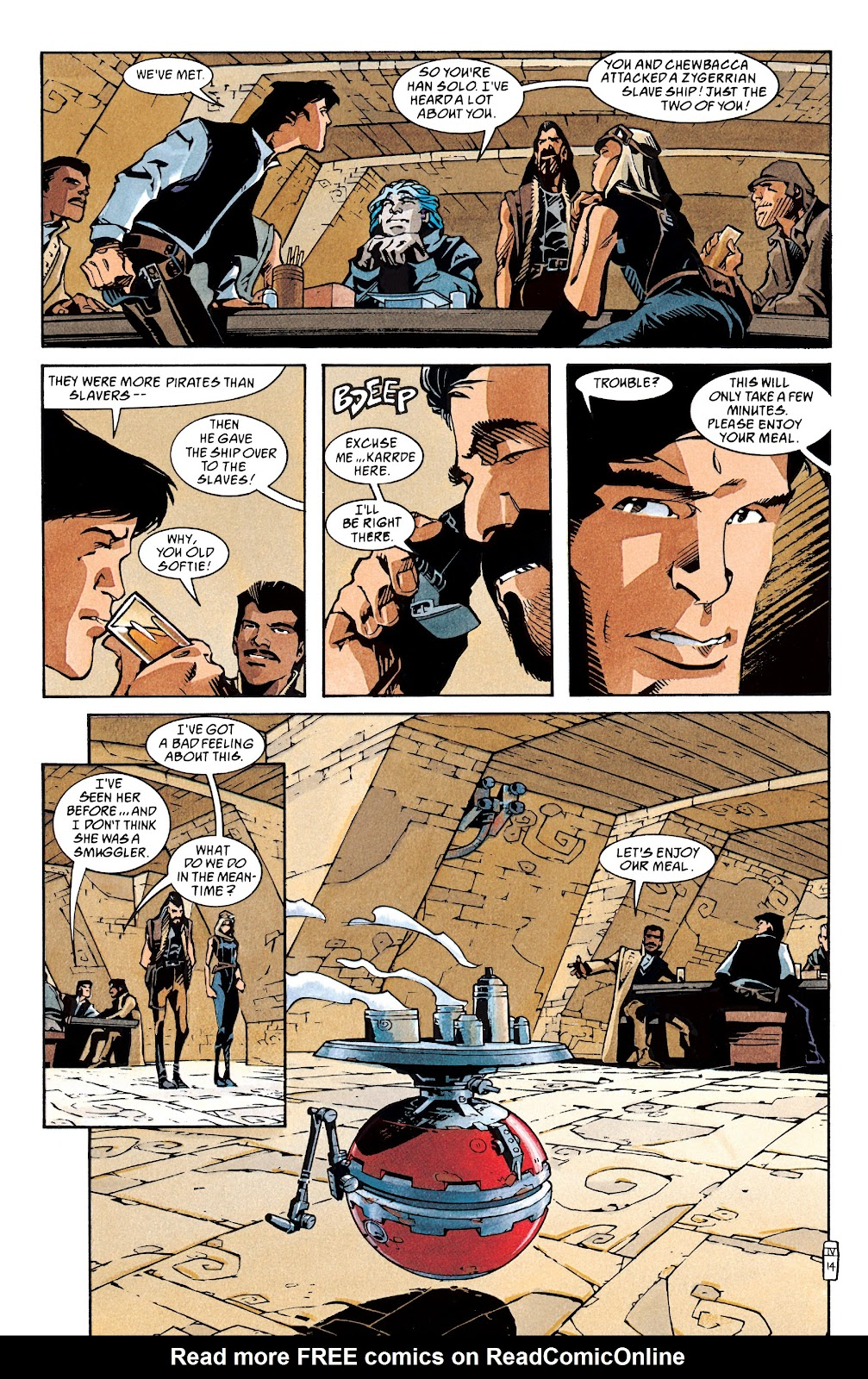 Read online Star Wars Legends: The New Republic - Epic Collection comic -  Issue # TPB 4 (Part 1) - 92