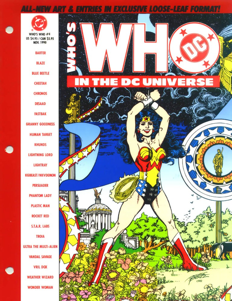 Whos Who in the DC Universe 4 Page 1