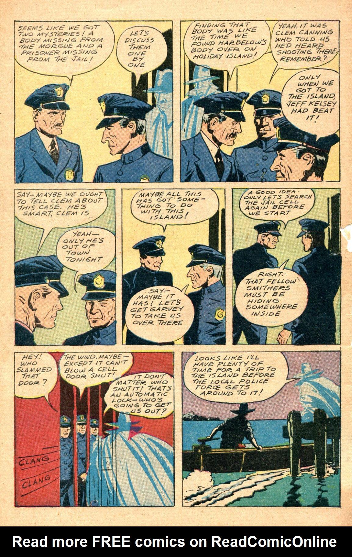 Read online Shadow Comics comic -  Issue #47 - 47