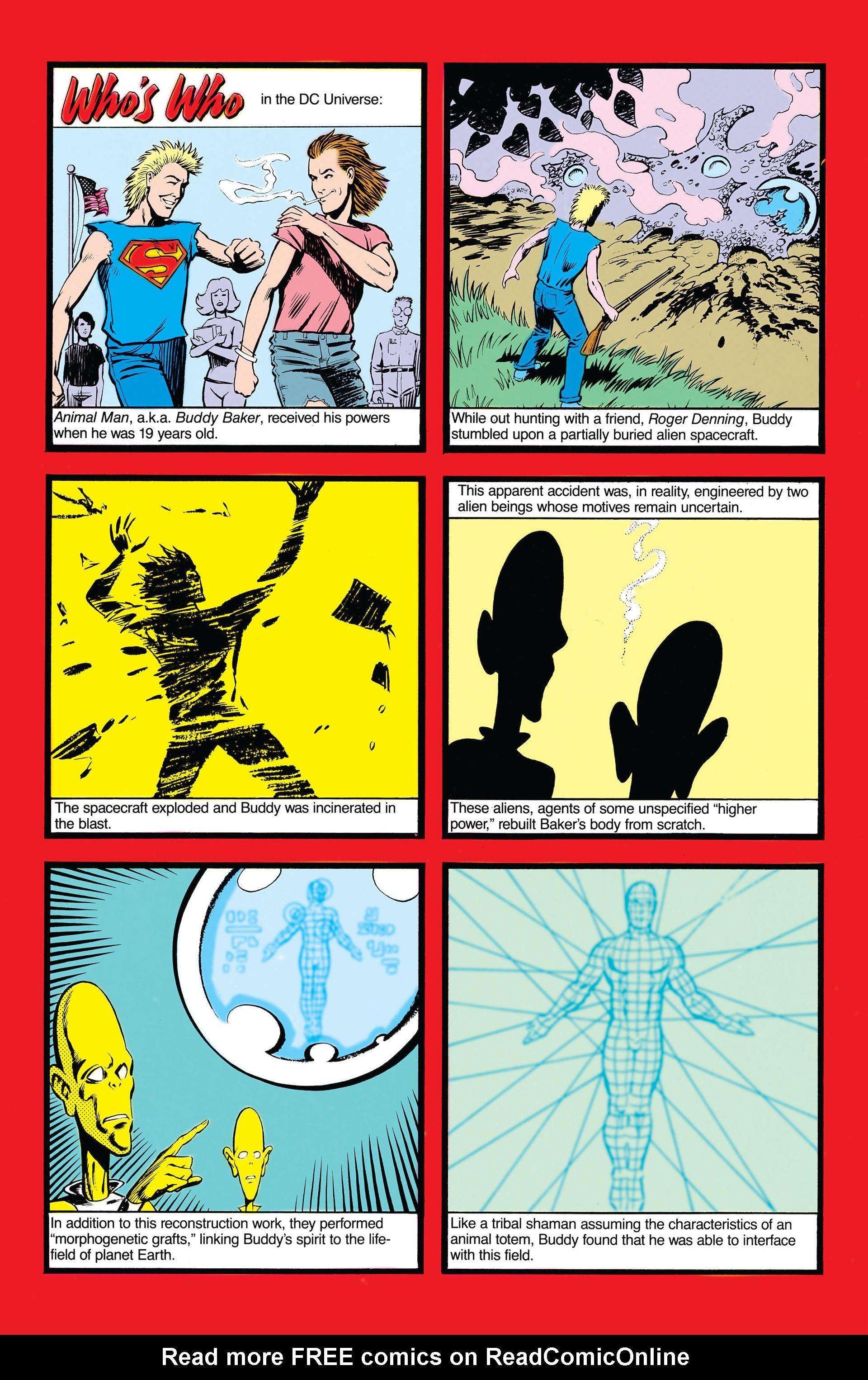 Read online Animal Man (1988) comic -  Issue #19 - 7
