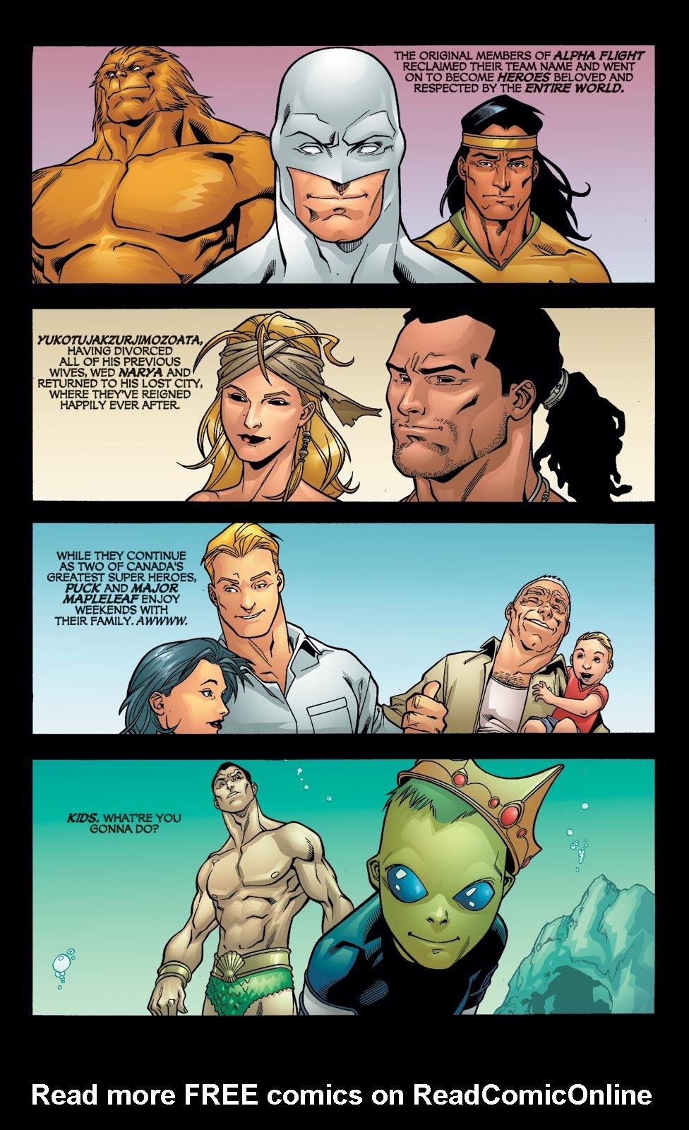 Read online Alpha Flight (2004) comic -  Issue #12 - 22