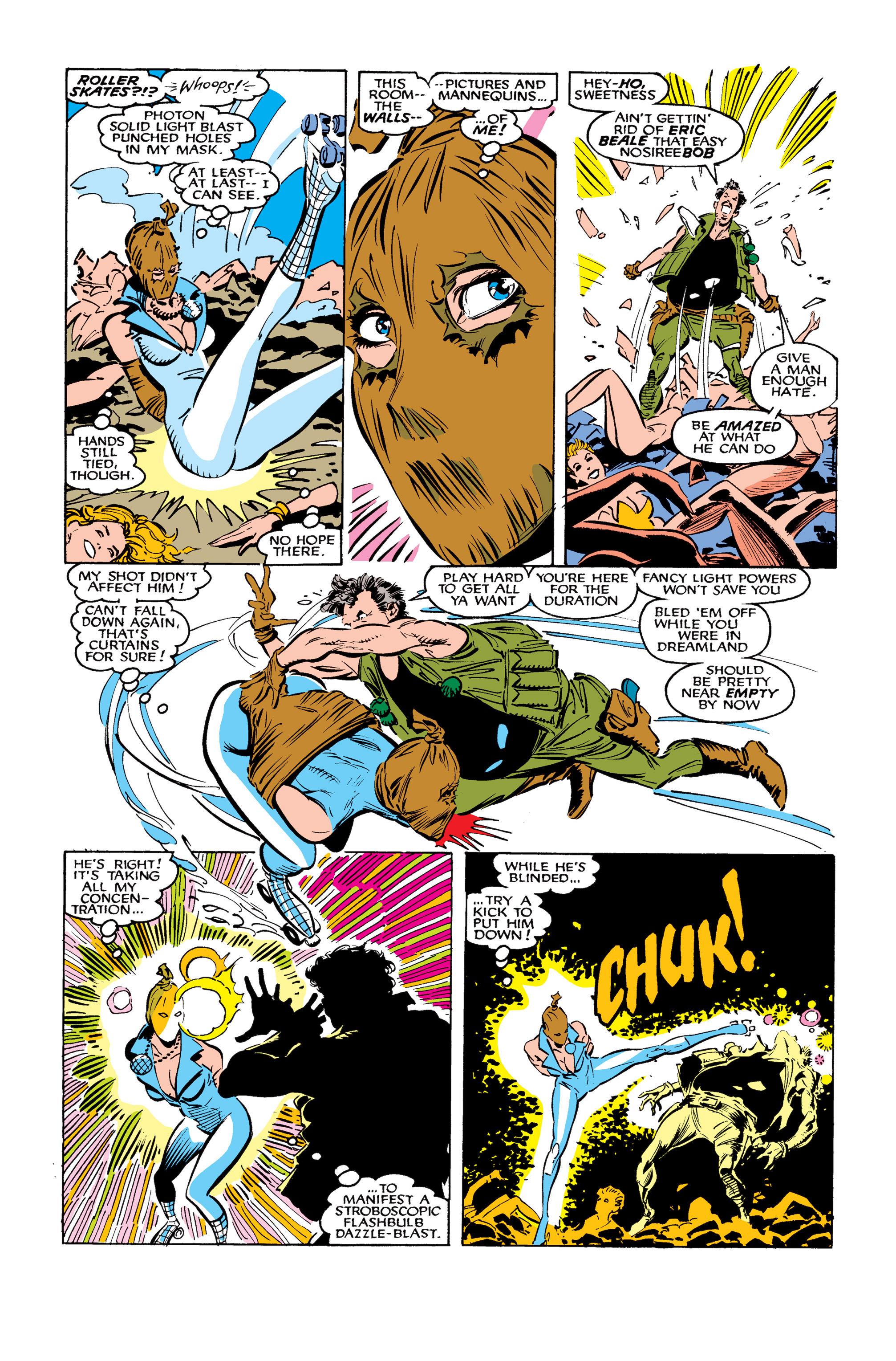 Read online Uncanny X-Men (1963) comic -  Issue #260 - 22