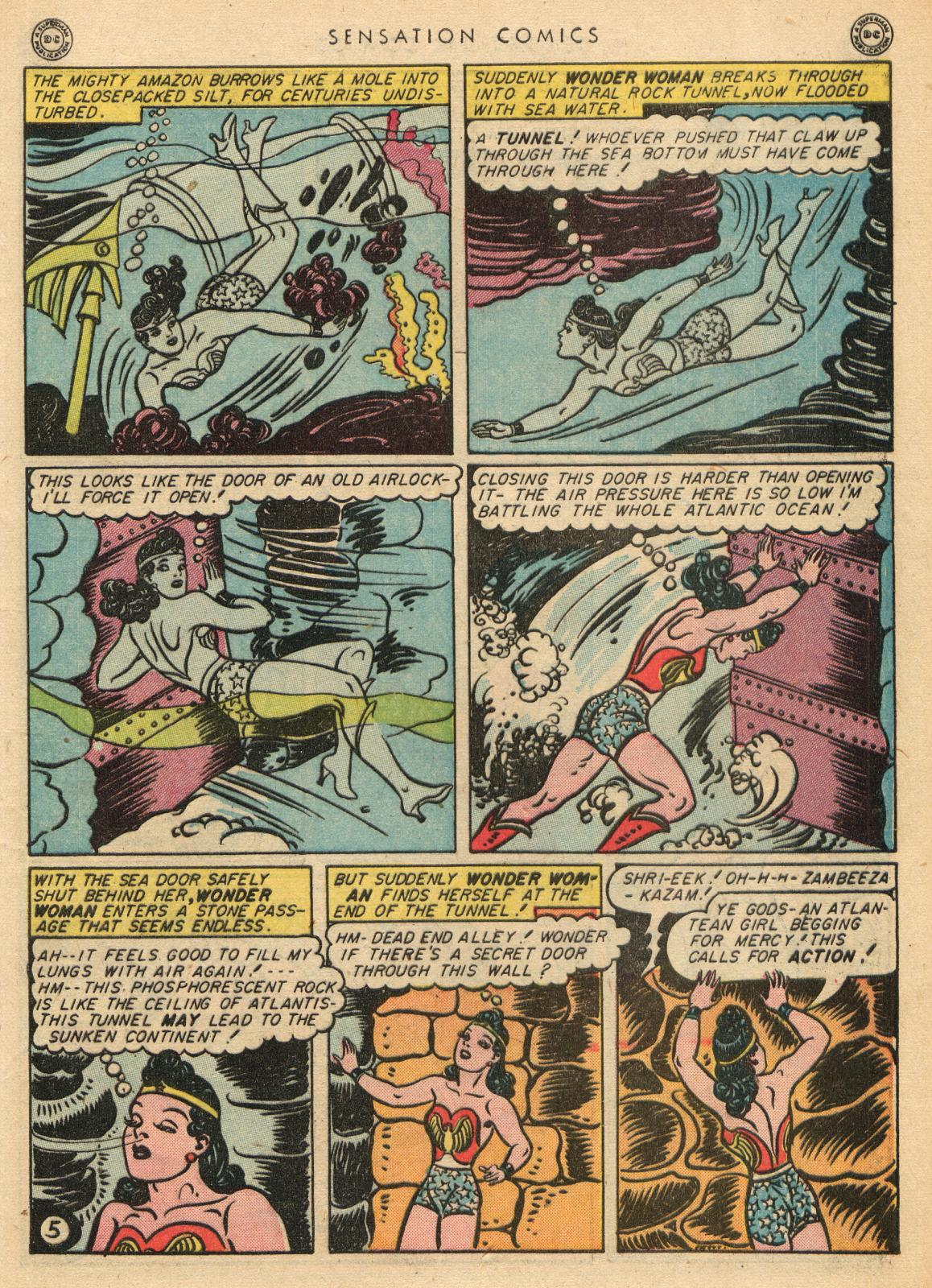 Read online Sensation (Mystery) Comics comic -  Issue #35 - 7