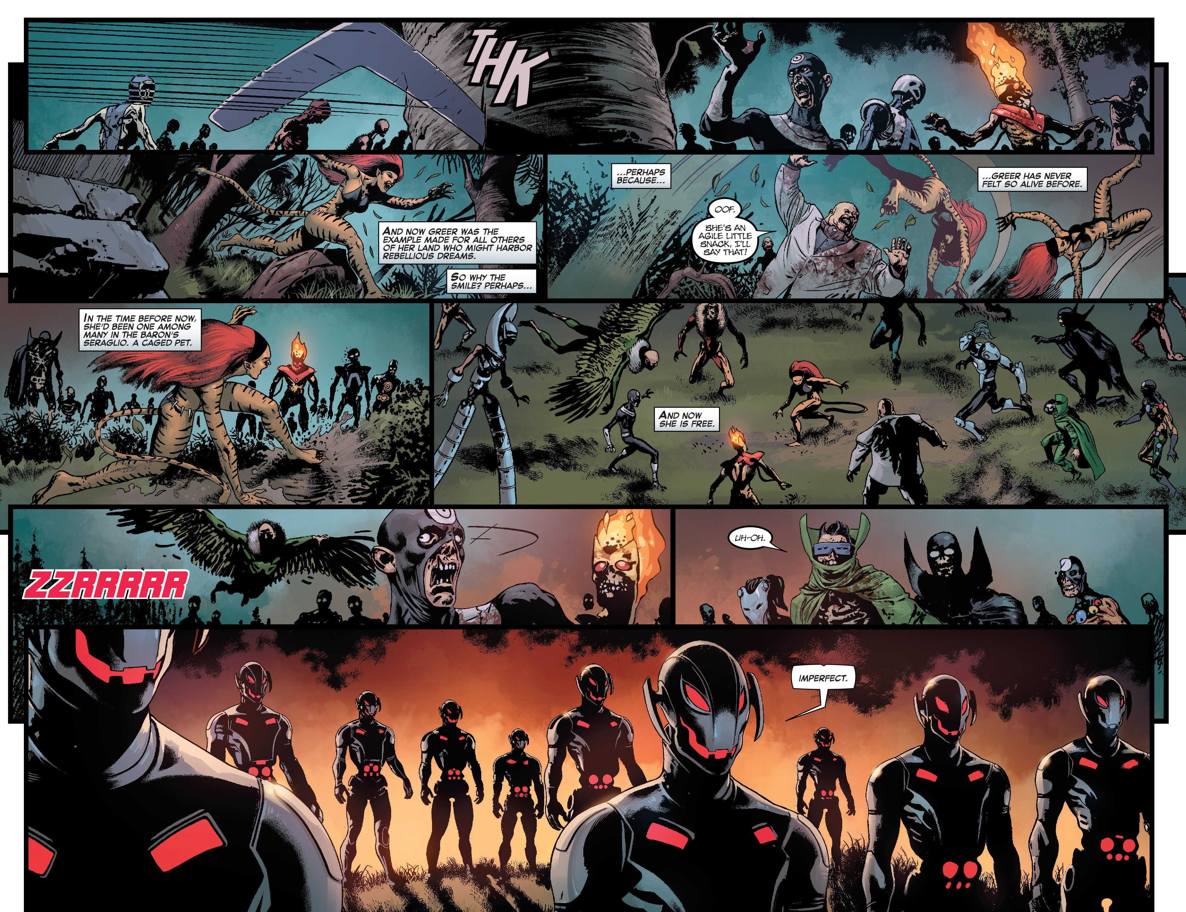 Read online Age of Ultron Vs. Marvel Zombies comic -  Issue #1 - 6