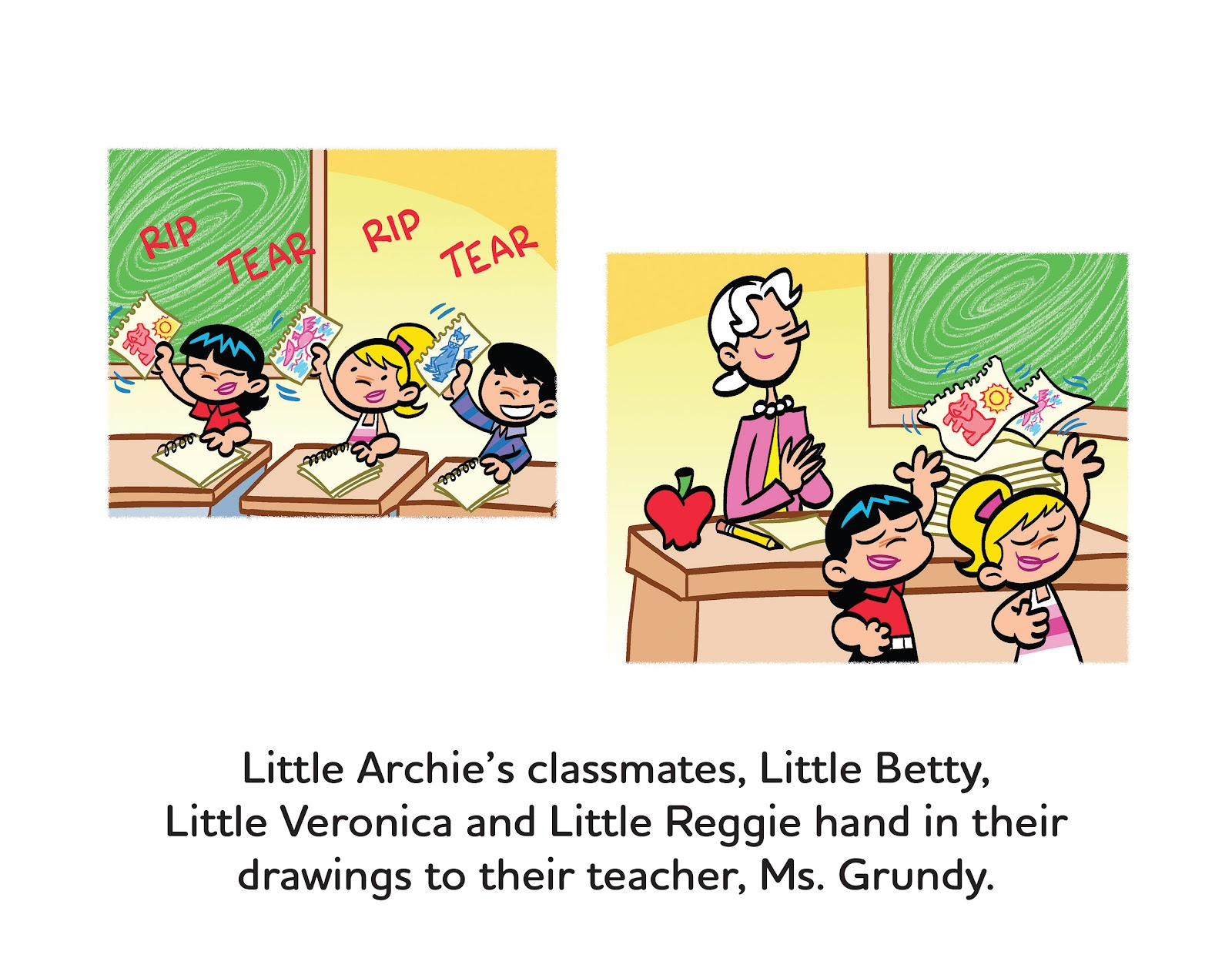 Read online Little Archie's Lucky Day comic -  Issue # Full - 13