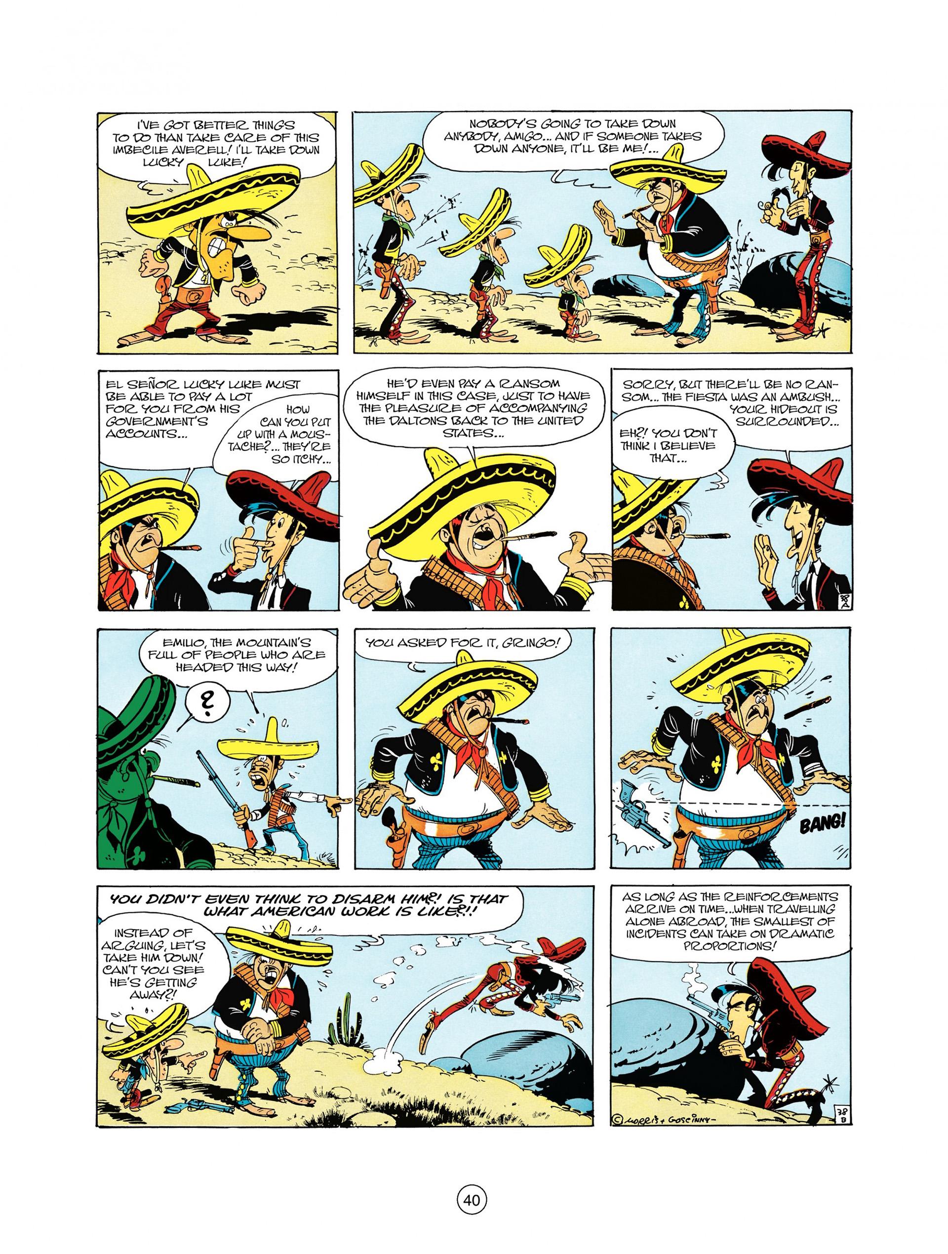 Read online A Lucky Luke Adventure comic -  Issue #10 - 40