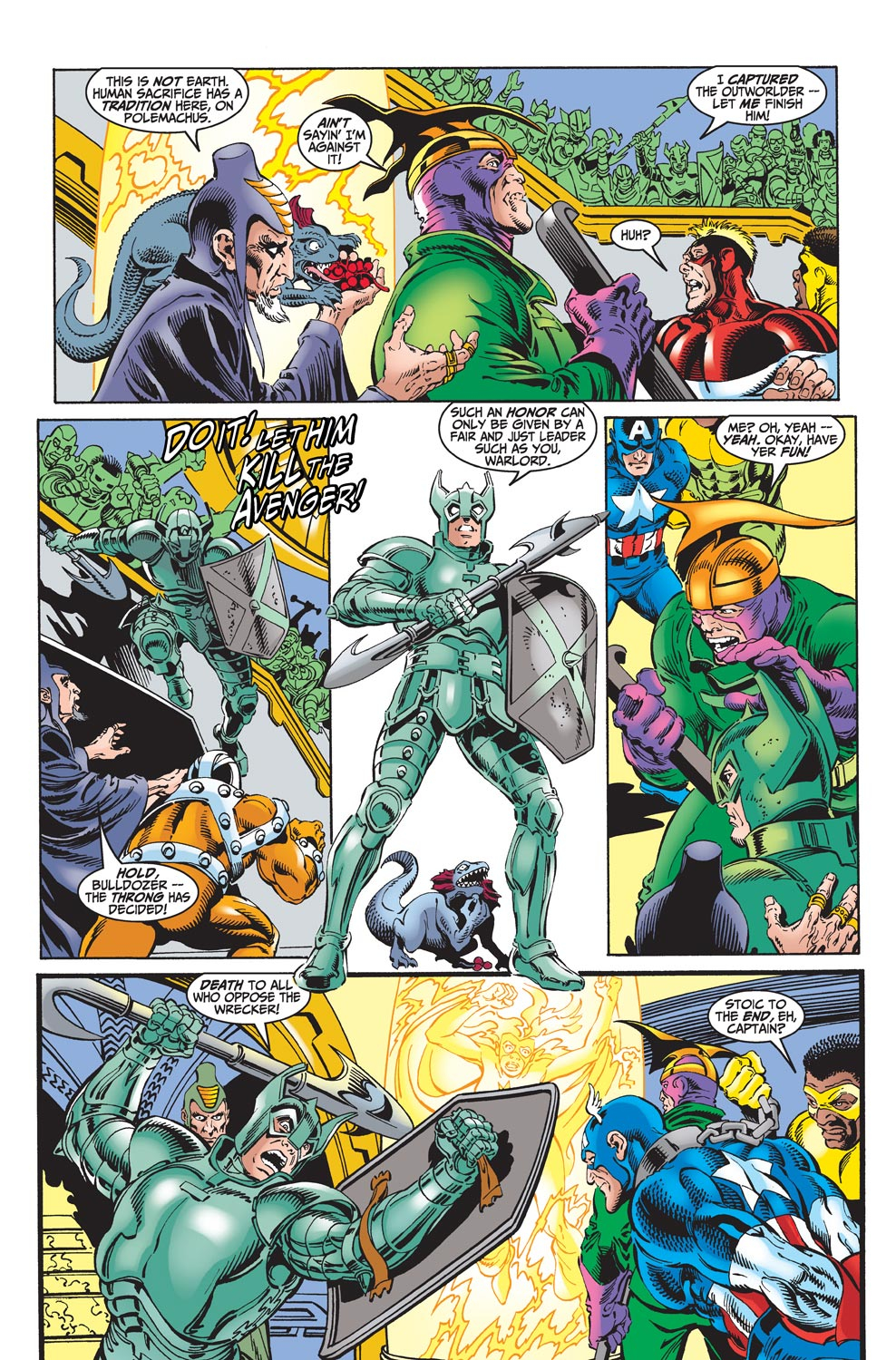 Read online Avengers (1998) comic -  Issue #18 - 4