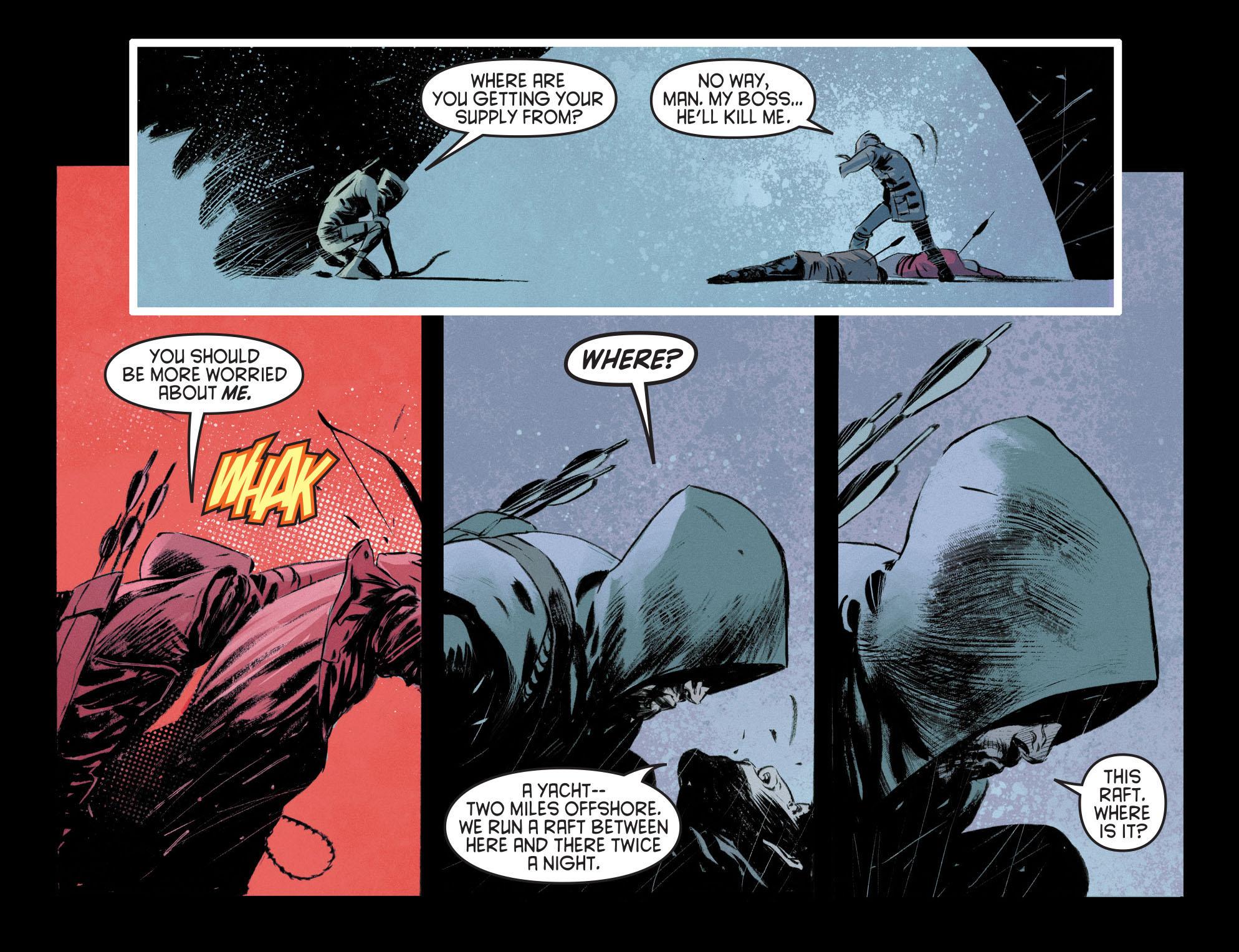 Read online Arrow [II] comic -  Issue #12 - 6