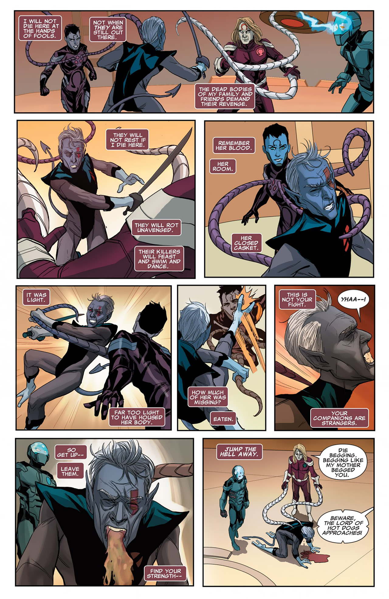 Read online Uncanny X-Force (2010) comic -  Issue #26 - 20