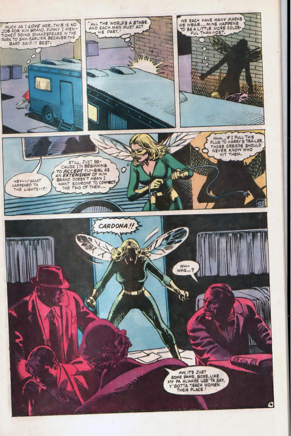 Read online The Fly (1983) comic -  Issue #2 - 9