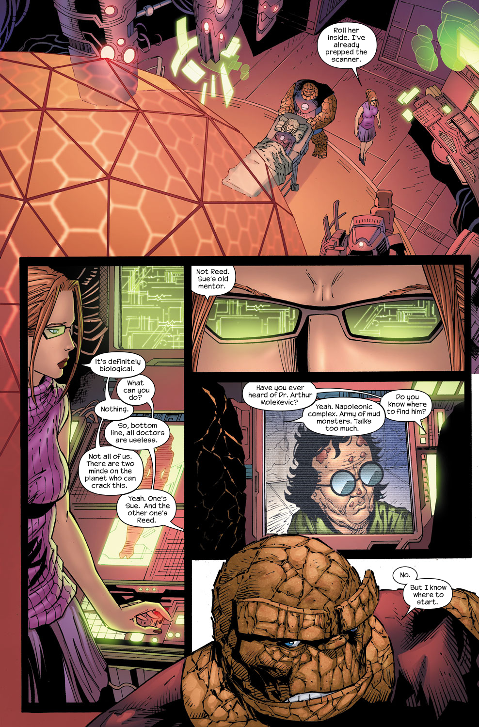 Read online Ultimate Fantastic Four (2004) comic -  Issue #58 - 9