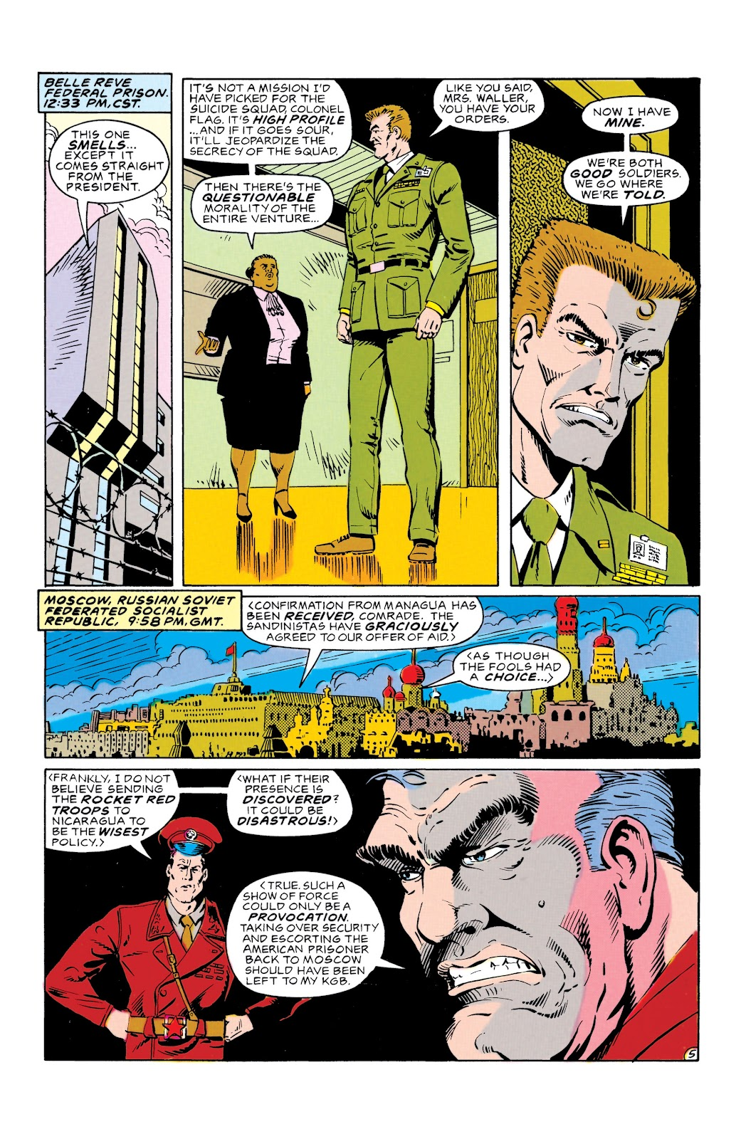 Doom Patrol and Suicide Squad Special issue Special 1 - Page 6