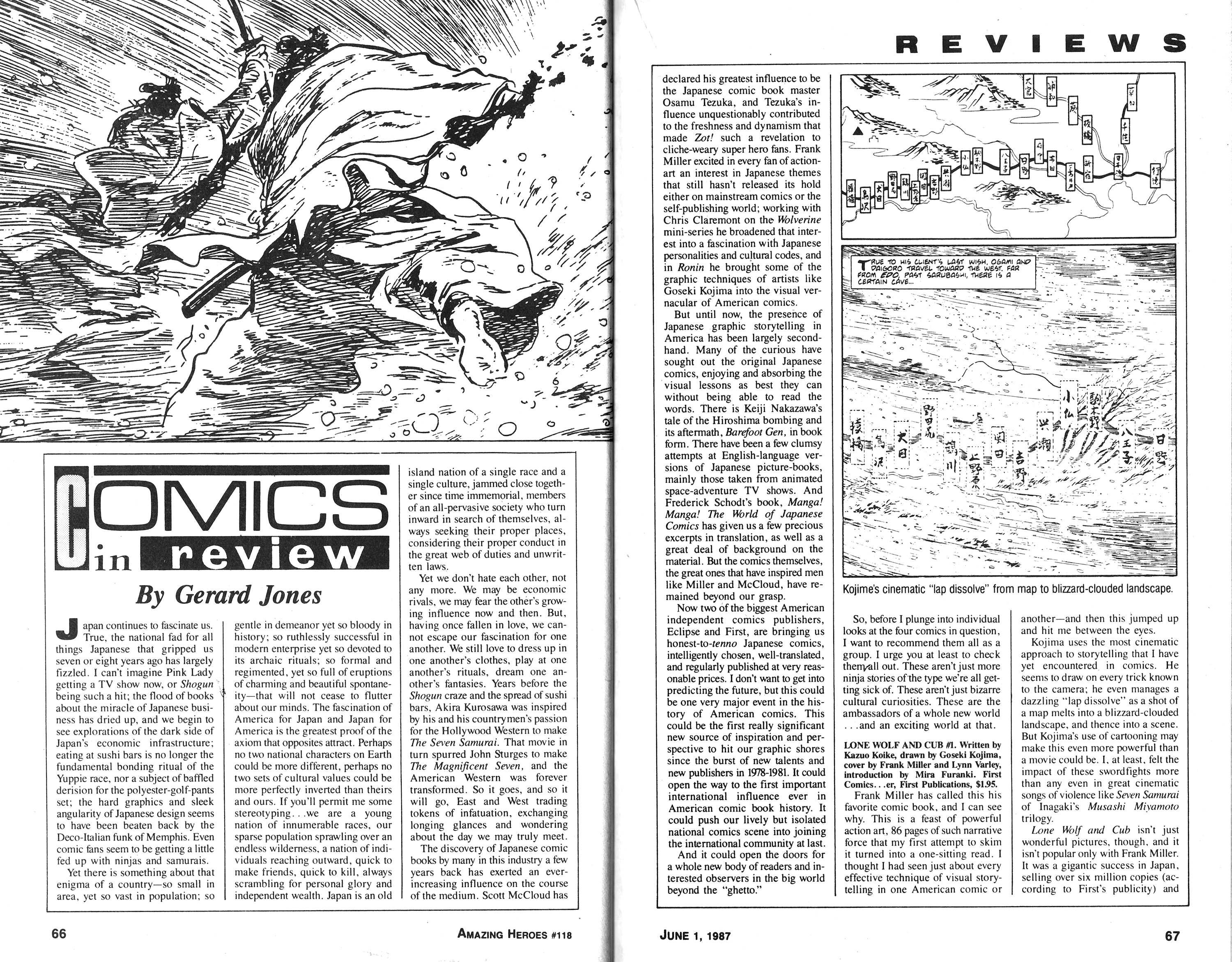 Read online Amazing Heroes comic -  Issue #118 - 34