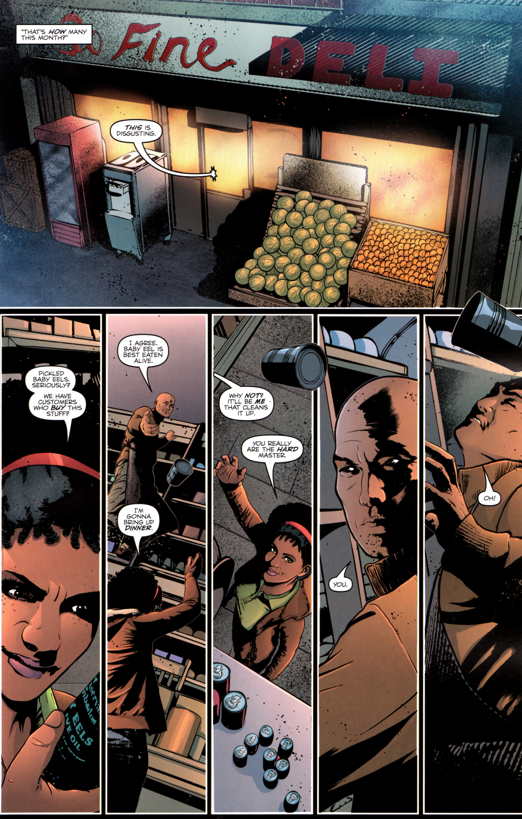 Read online G.I. Joe: Snake Eyes comic -  Issue #12 - 6
