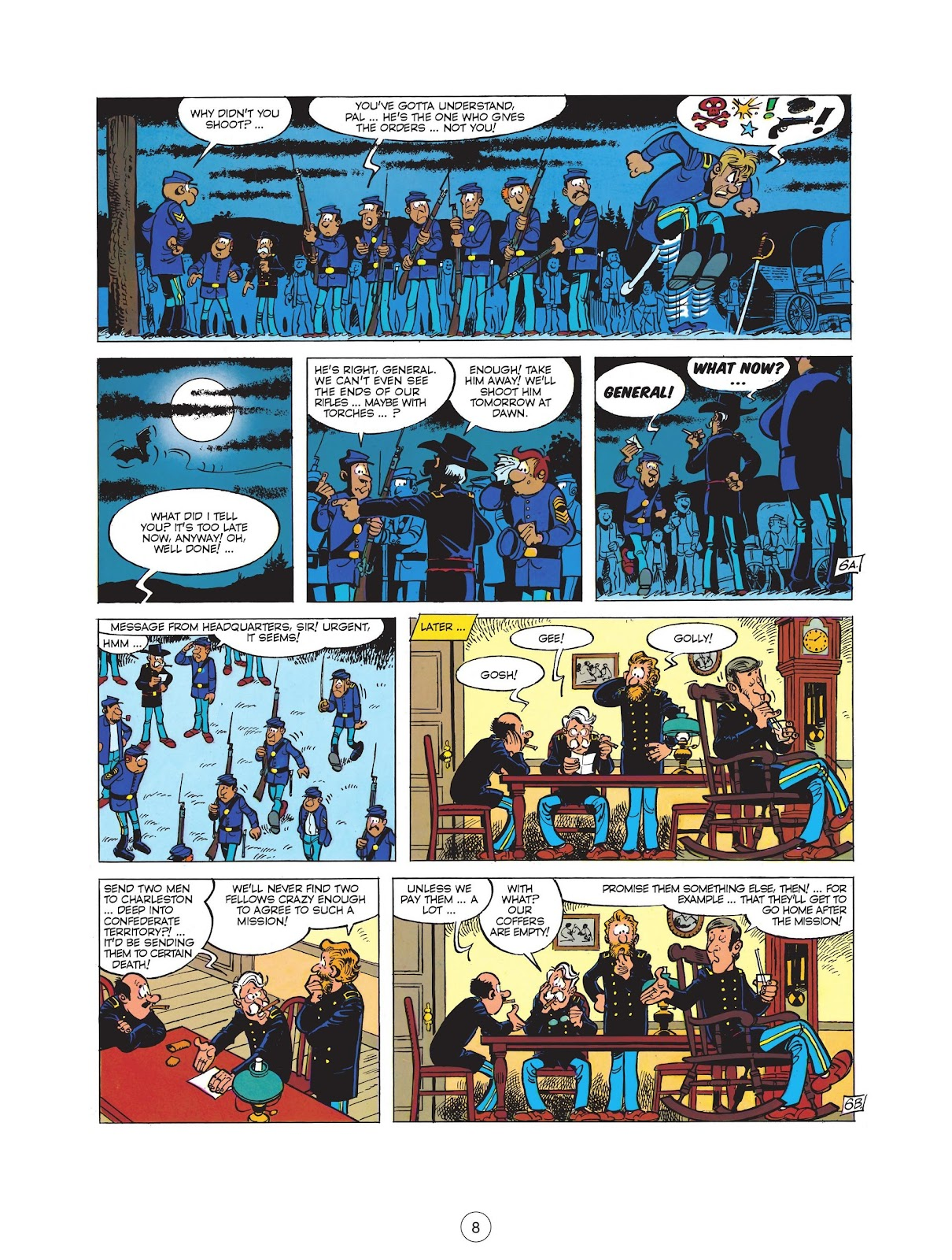 Read online The Bluecoats comic -  Issue #12 - 10
