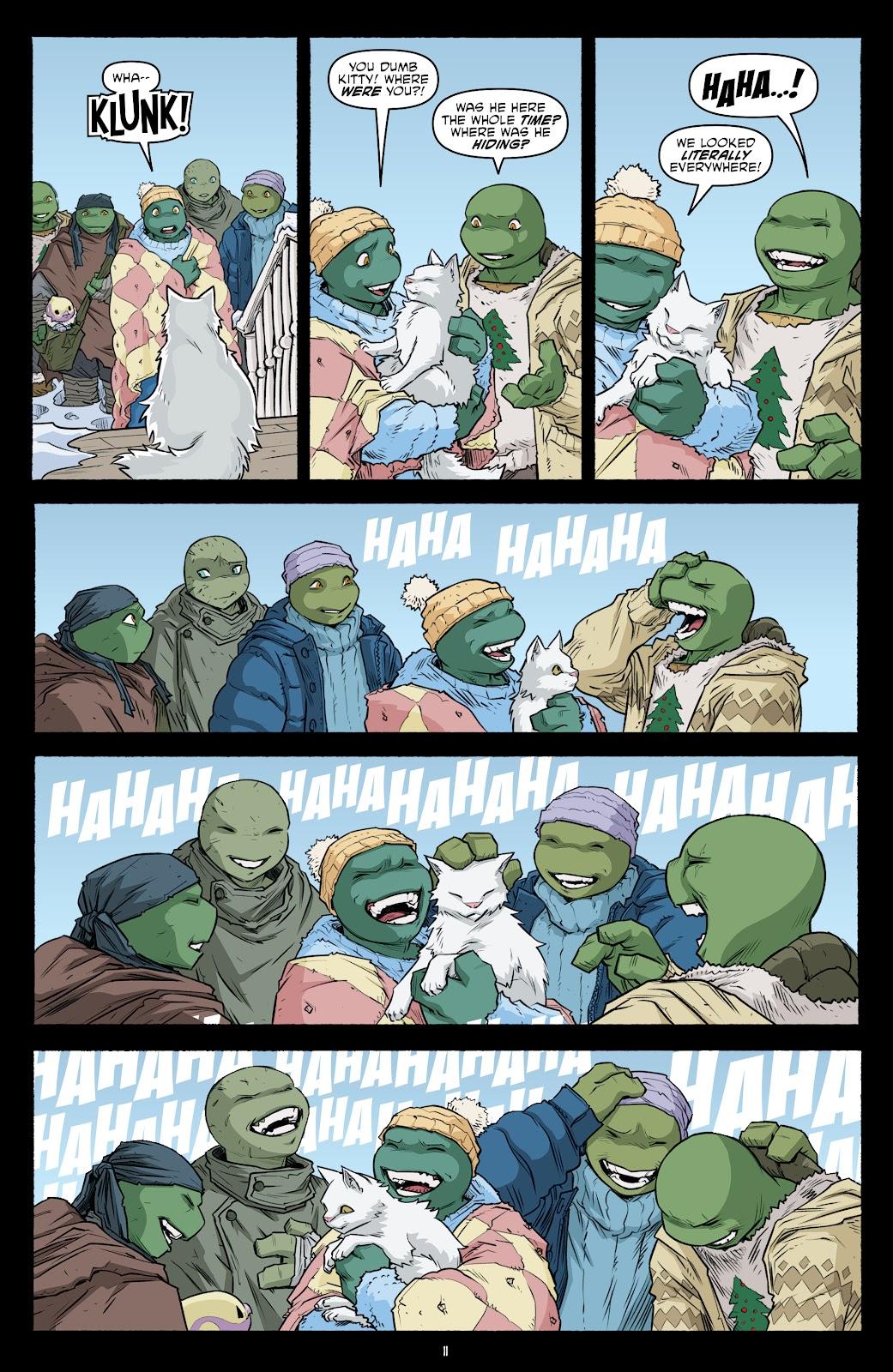 Read online Teenage Mutant Ninja Turtles (2011) comic -  Issue #104 - 13