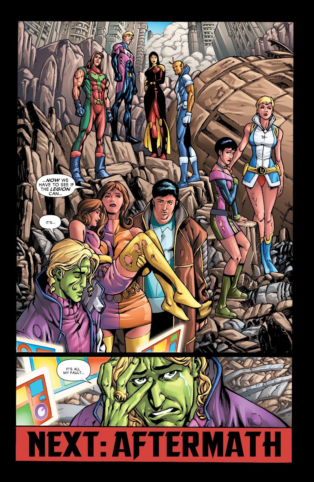 Legion of Super-Heroes (2011) Issue #22 #23 - English 21