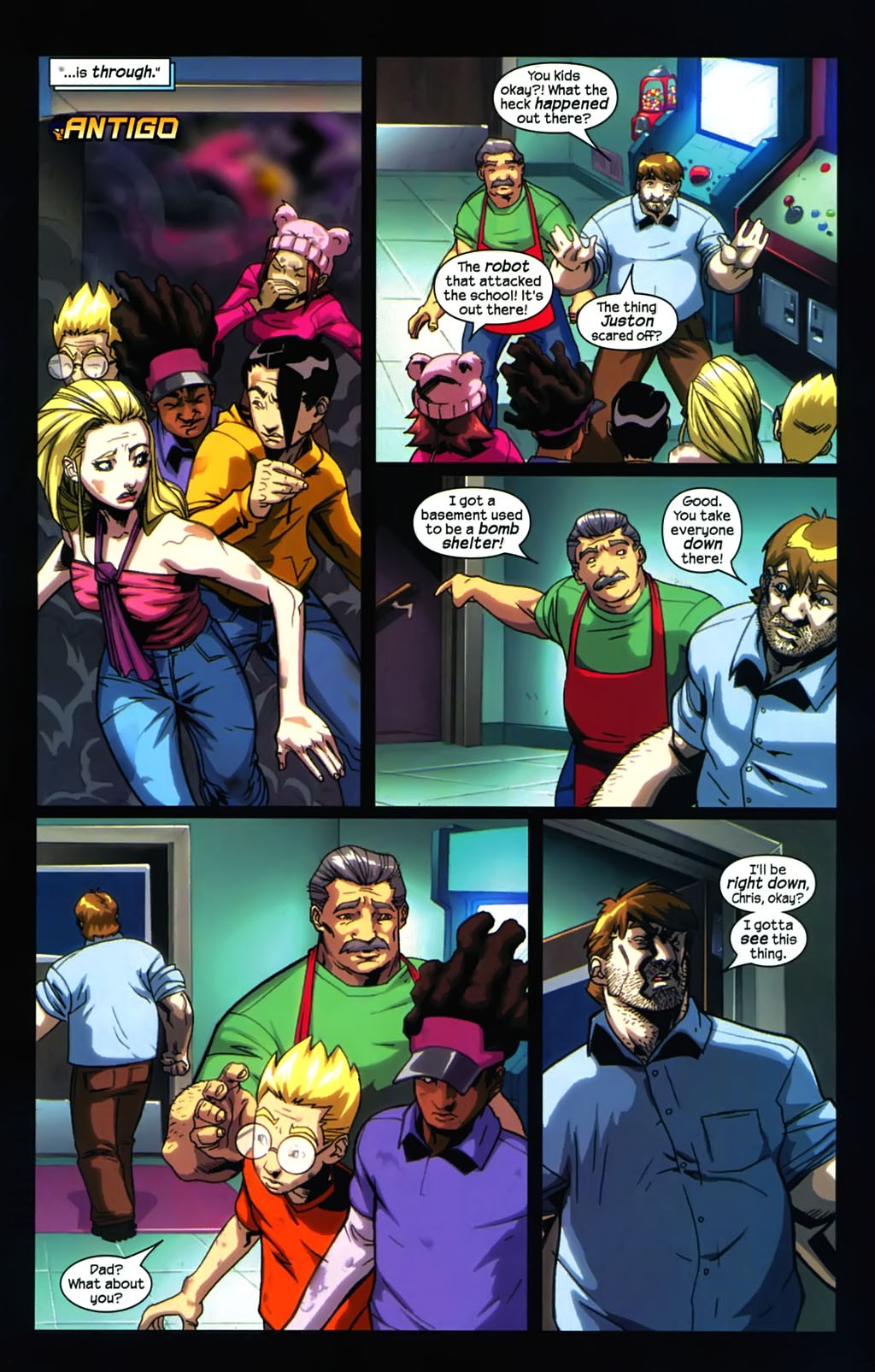 Read online Sentinel (2006) comic -  Issue #5 - 4