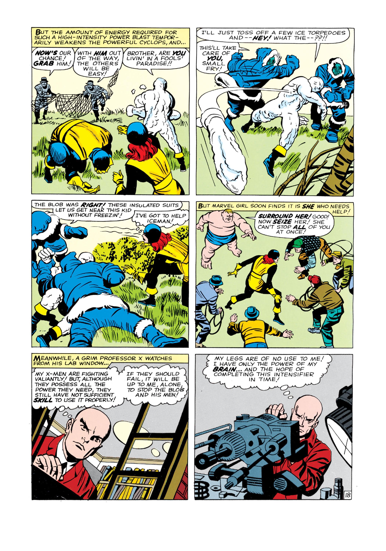 Read online Uncanny X-Men (1963) comic -  Issue #3 - 19
