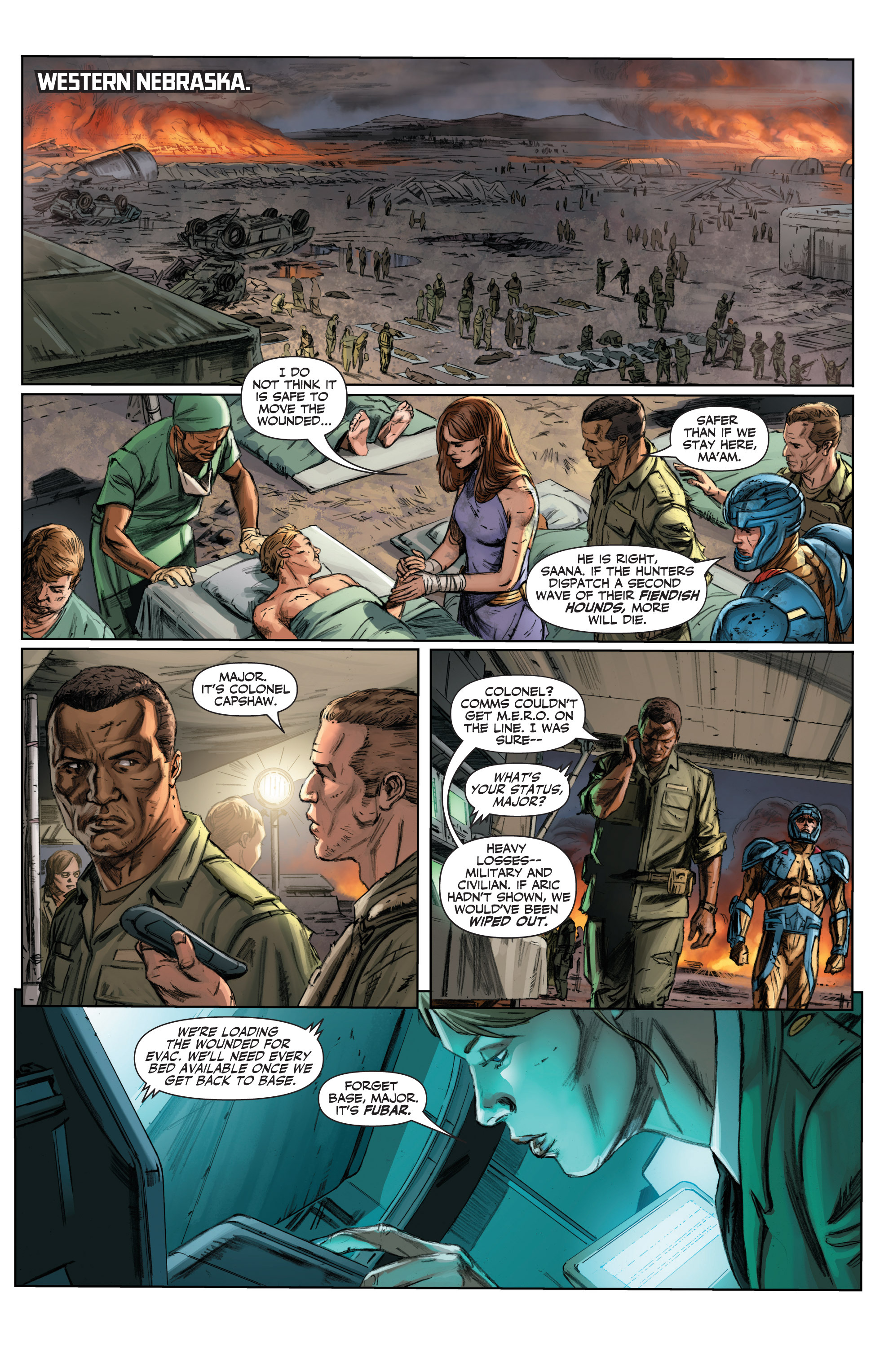 Read online Armor Hunters comic -  Issue #3 - 5