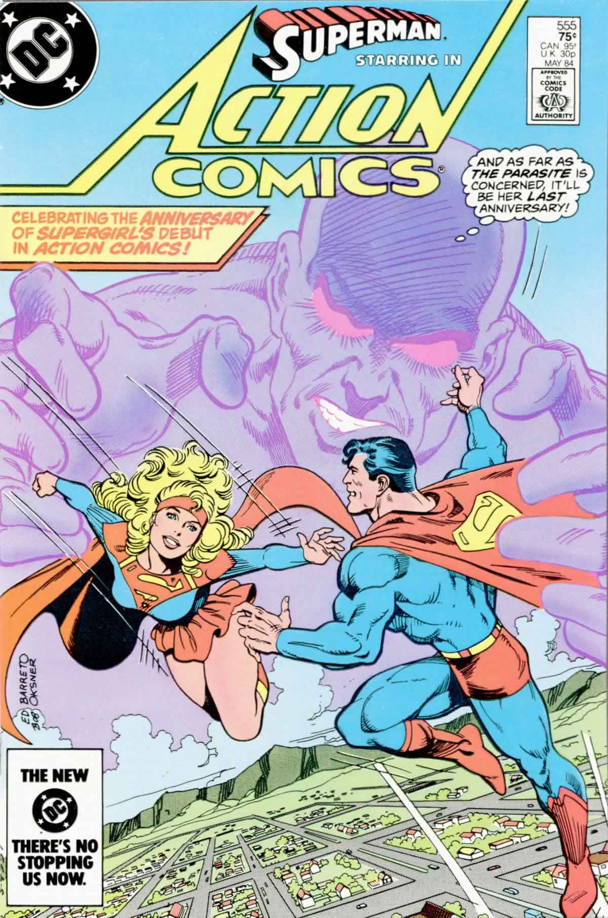 Read online Action Comics (1938) comic -  Issue #555 - 1