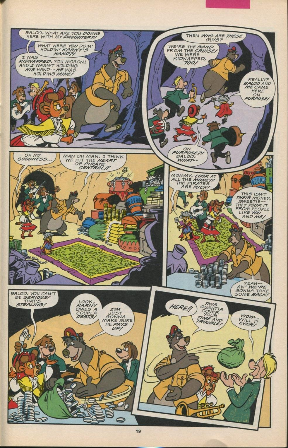 Read online Disney's Tale Spin comic -  Issue #6 - 20
