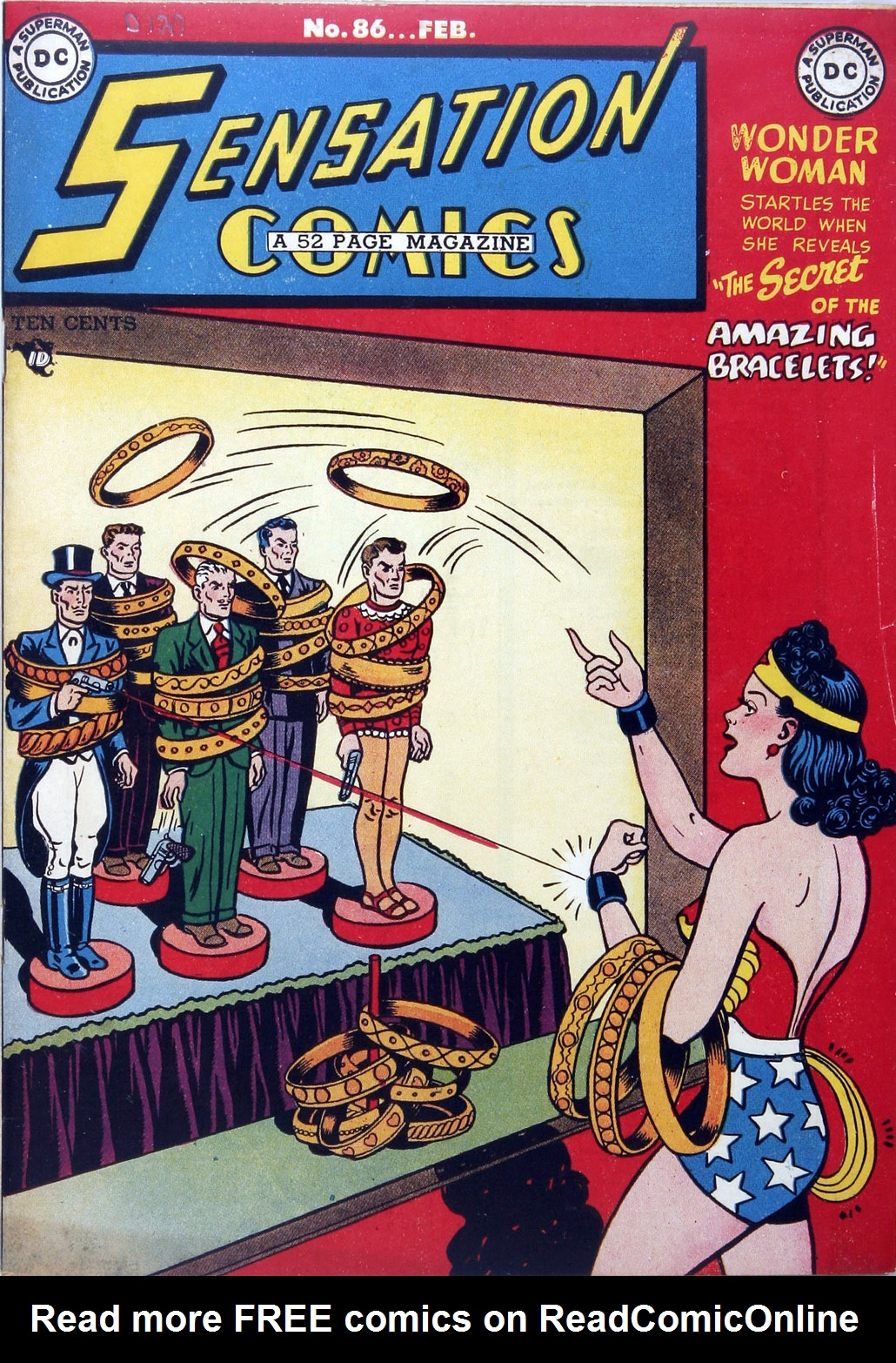 Sensation (Mystery) Comics 86 Page 1