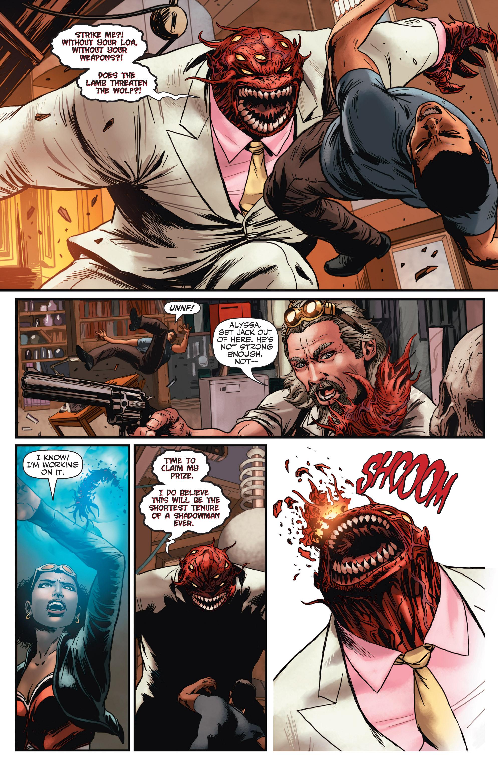 Read online Shadowman (2012) comic -  Issue #3 - 5