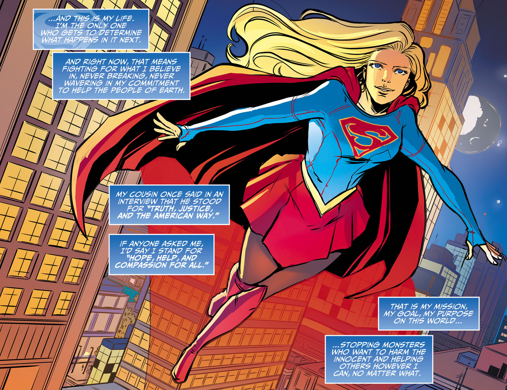 Read online Adventures of Supergirl comic -  Issue #13 - 21