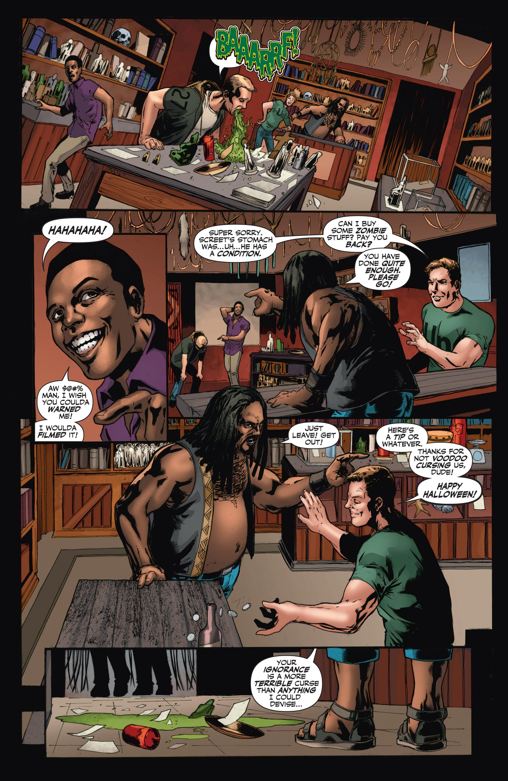 Read online Shadowman (2012) comic -  Issue #11 - 8
