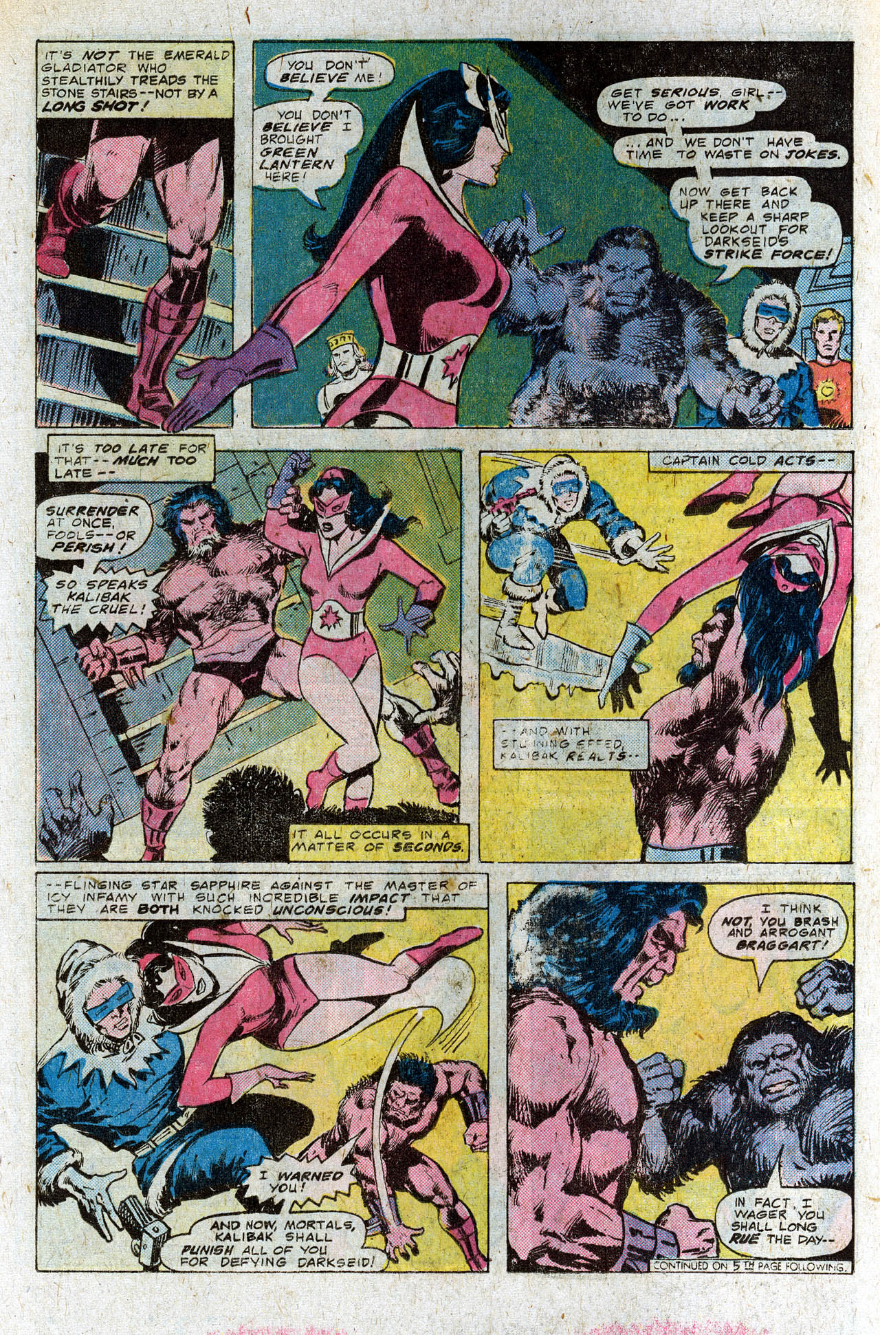 Read online Secret Society of Super-Villains comic -  Issue #4 - 16