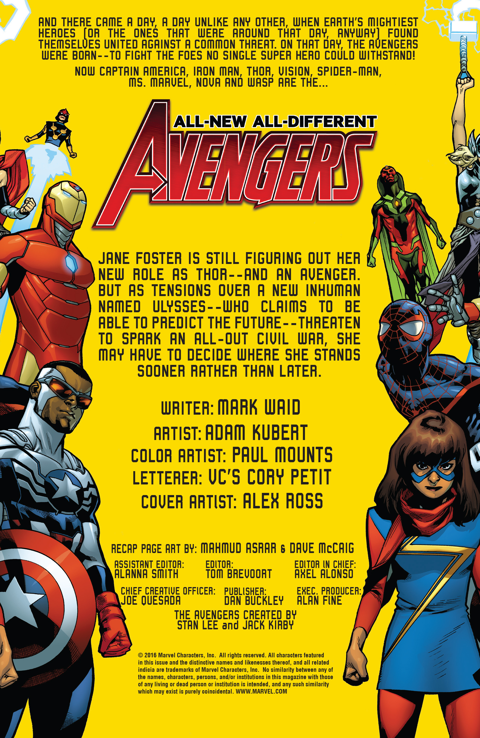 Read online All-New, All-Different Avengers comic -  Issue #15 - 2