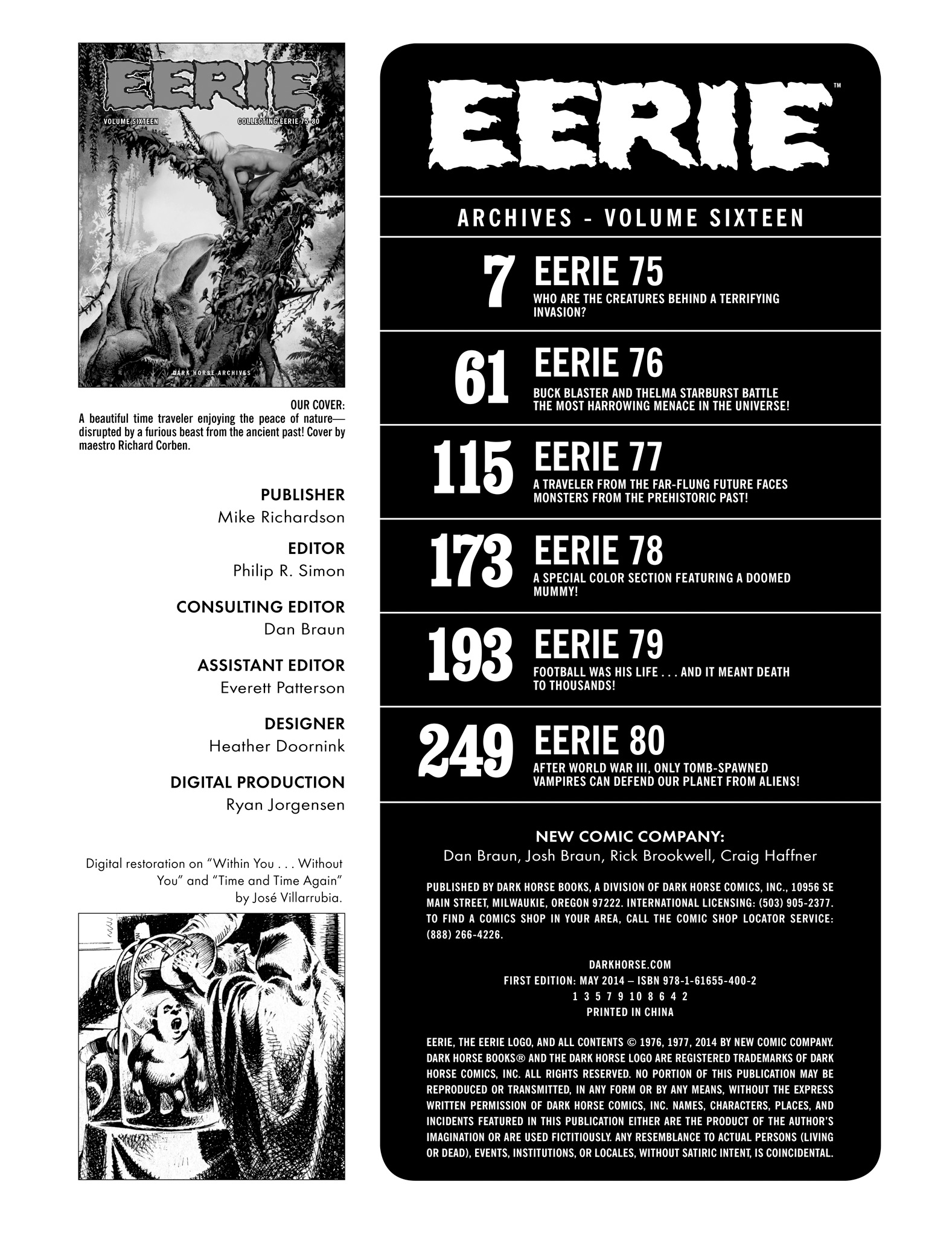 Read online Eerie Archives comic -  Issue # TPB 16 - 4